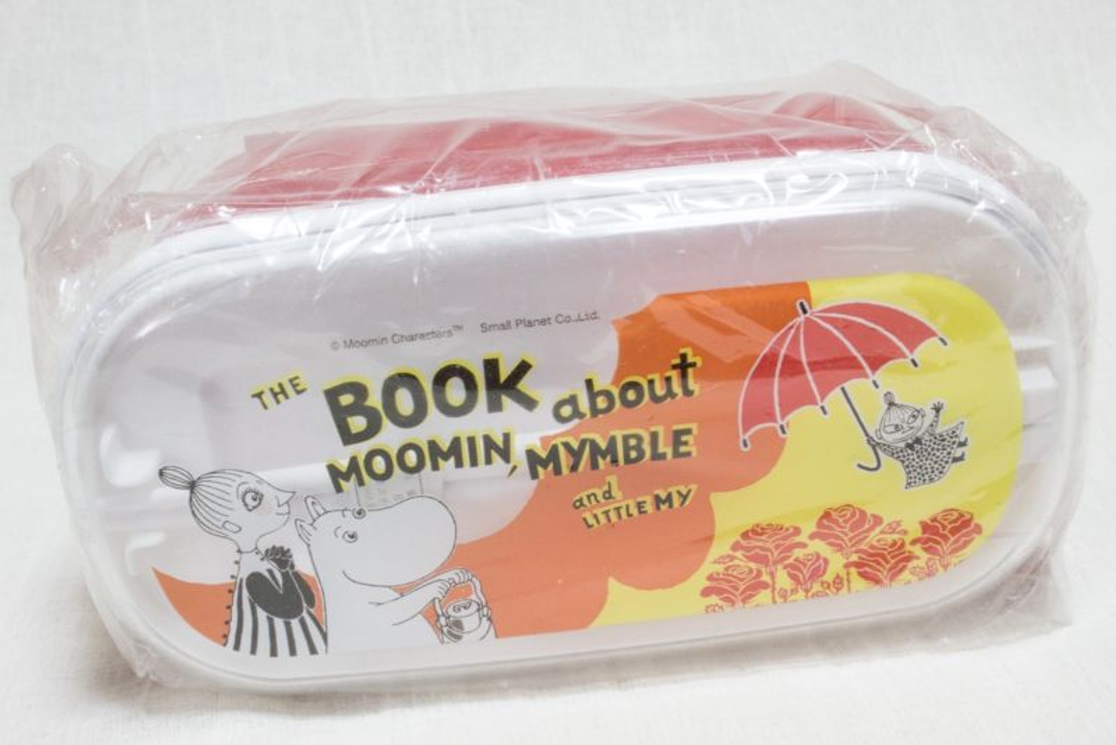 Moomin Two segments Lunch Box Bento Little My Small Planet JAPAN ANIME
