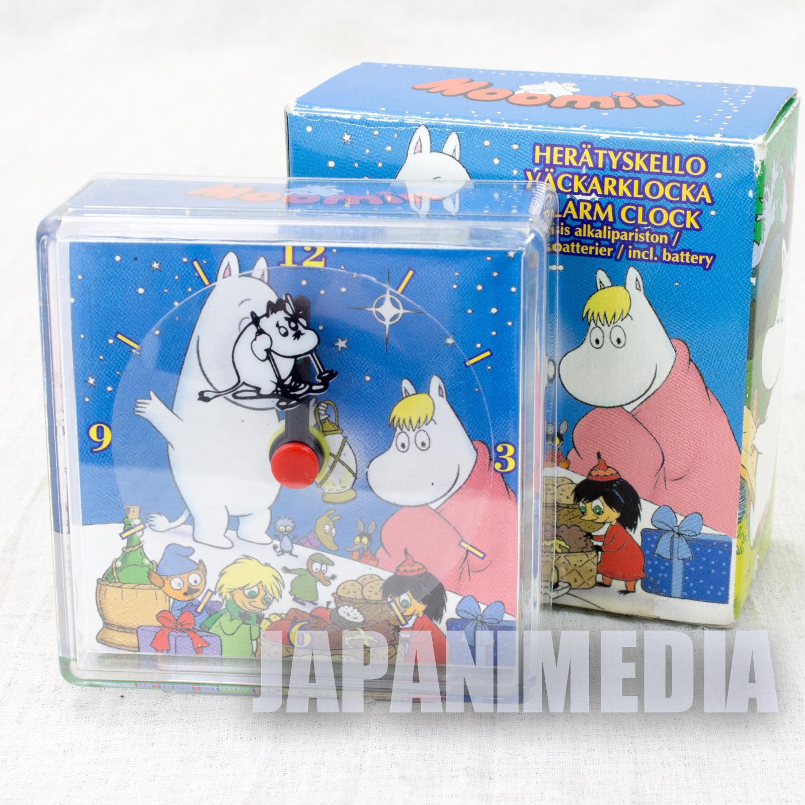 RARE!! Moomin Mini Alarm Clock Tove Janson