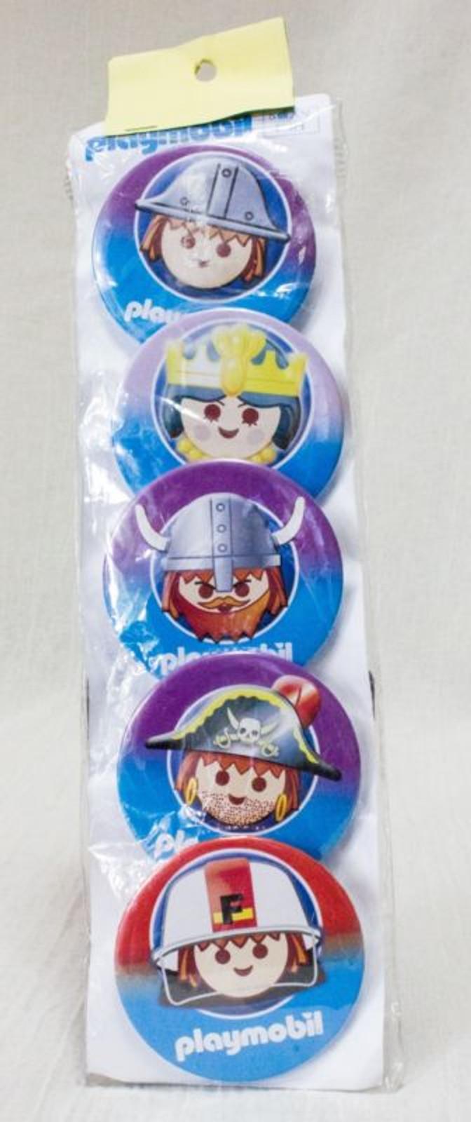 Playmobil Set of 5 Button badge