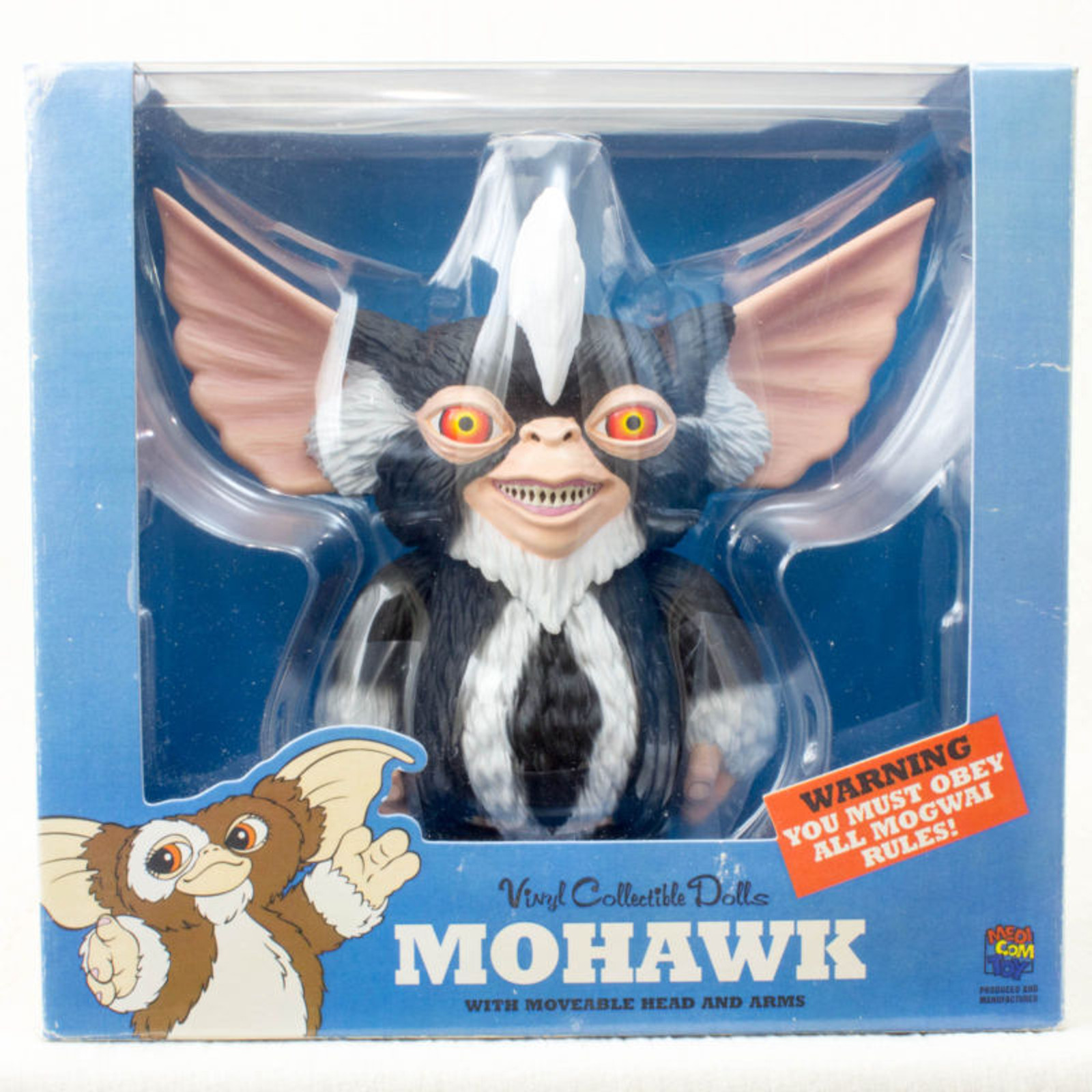 Gremlins Mohawk VCD Vinyl Collectible Dolls Figure Medicom Toy JAPAN MOVIE
