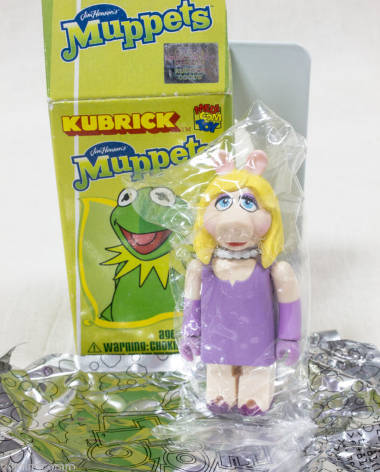 MUPPETS Miss Piggy Kubrick Medicom Toy JAPAN FIGURE