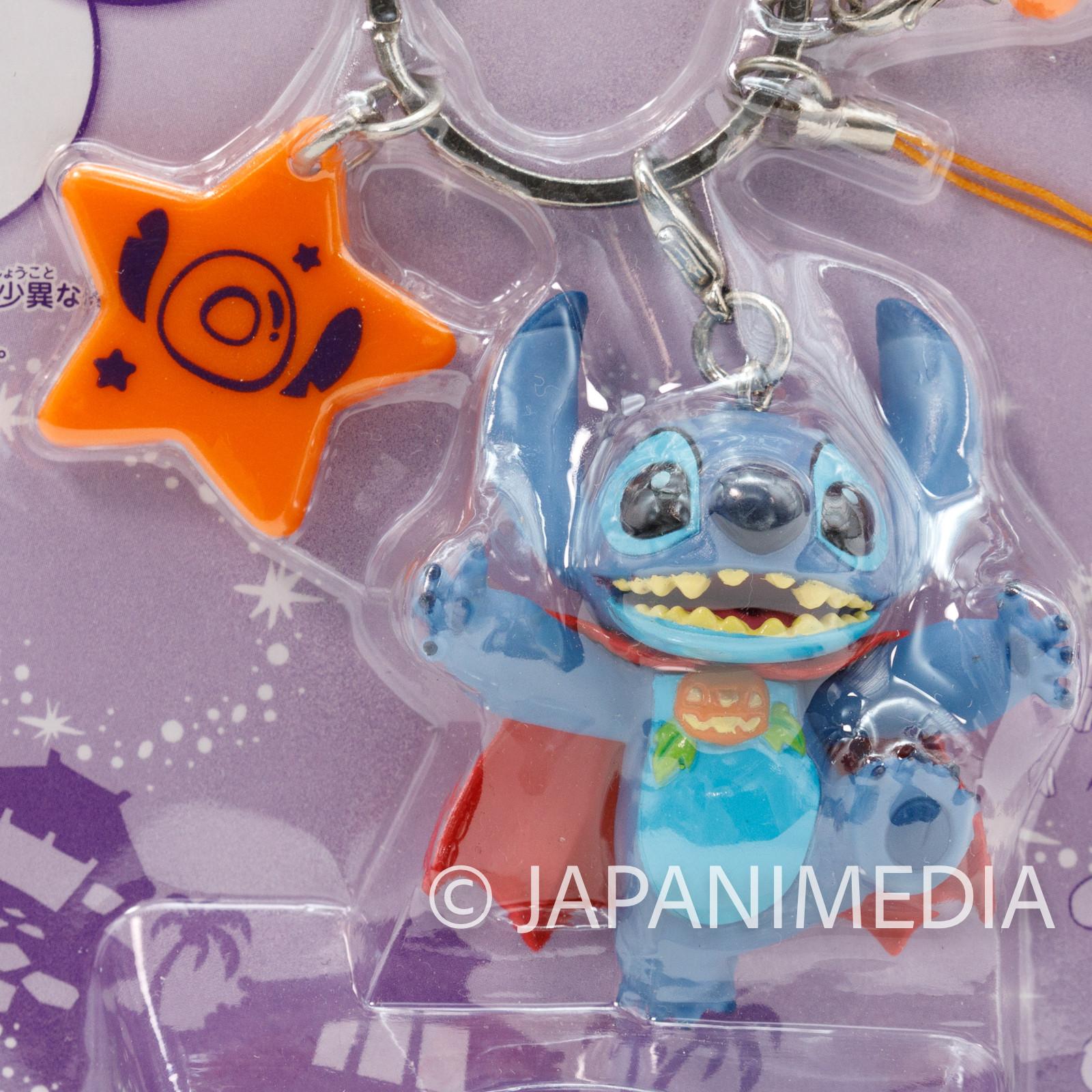 Disney Stitch Strap Halloween Cloak Ver. Mascot Figure Banpresto JAPAN ANIME