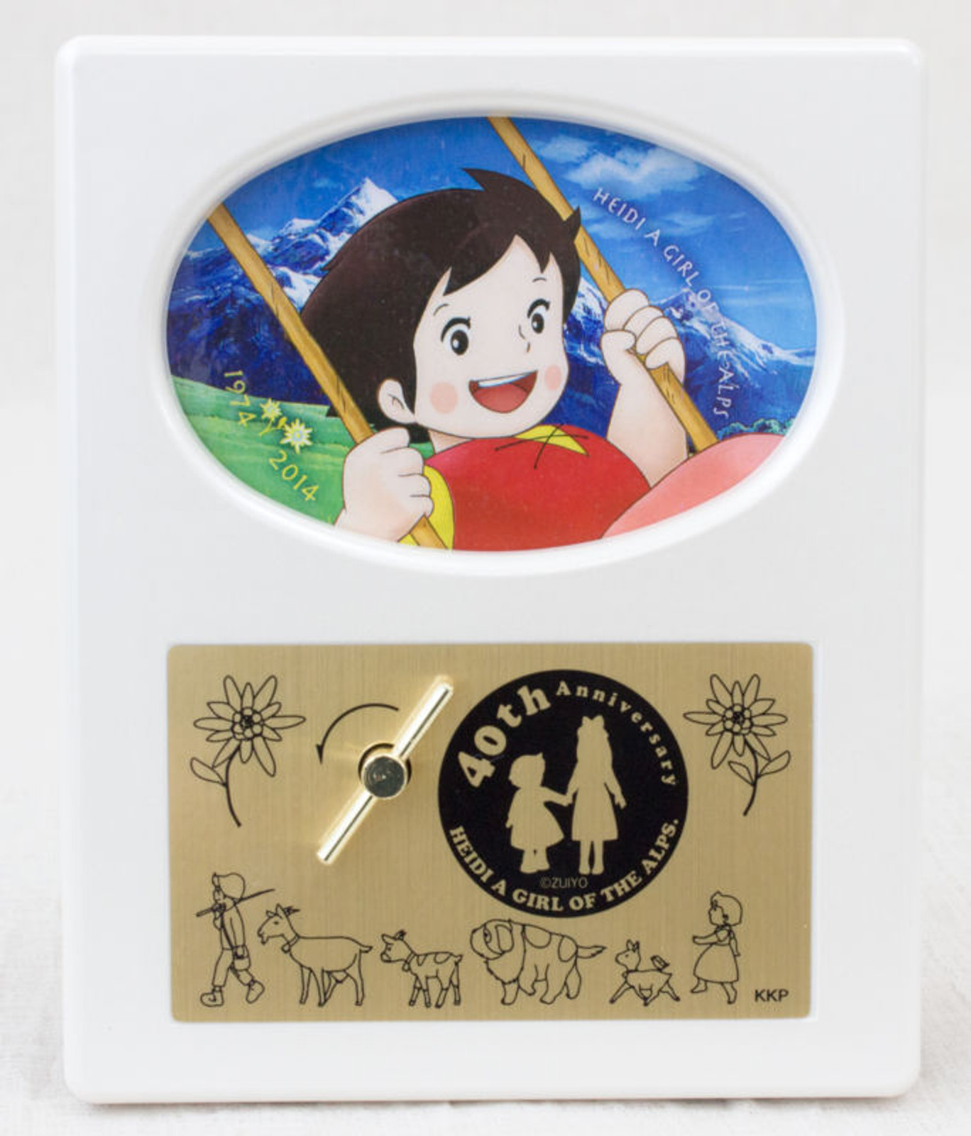 Heidi Girl of the Alps 40th Anniversary Limited Music Box Op Theme Song JAPAN 1