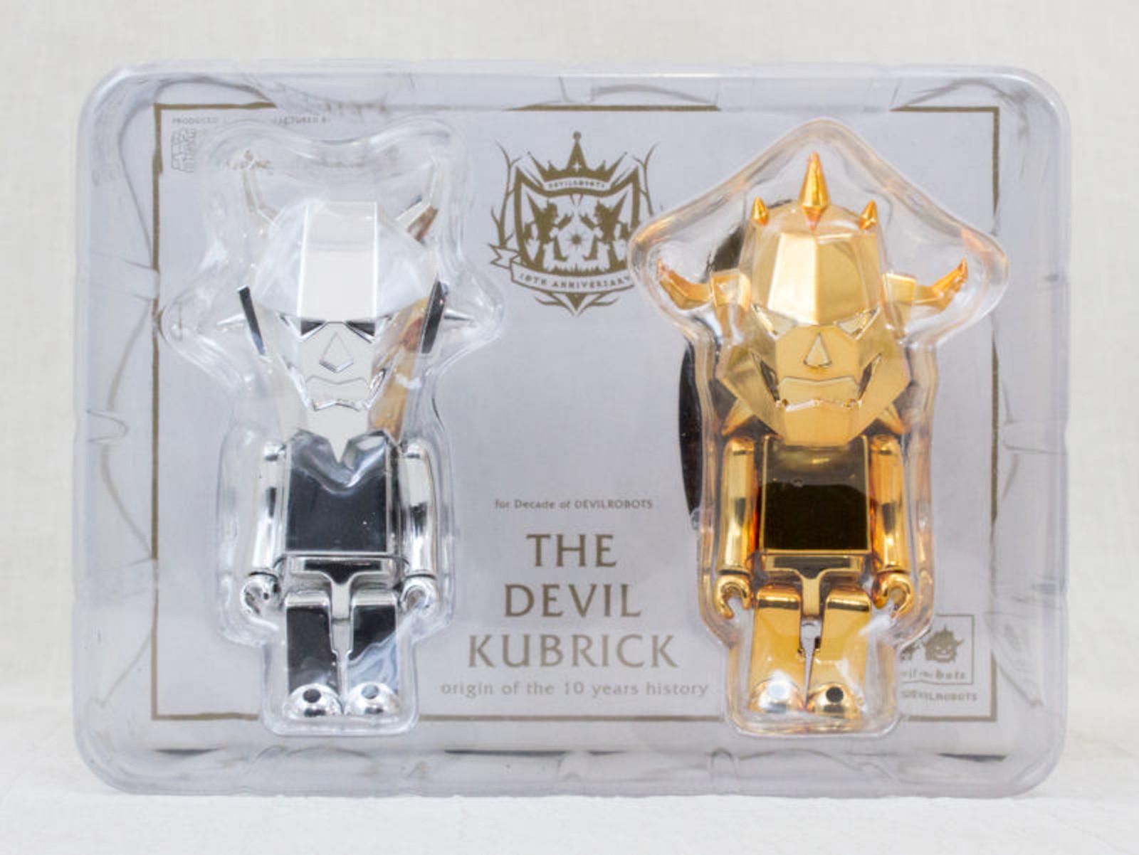 The Devil Kubrick Set Figure Decade of DEVILROBOTS Medicom Toy JAPAN