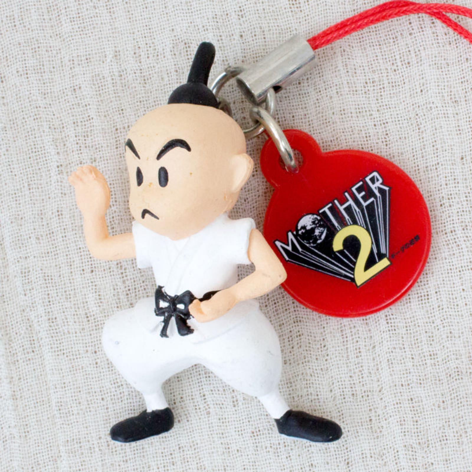 MOTHER 2 Poo Figure Strap Nintendo Takara Tomy JAPAN GAME NES FAMICOM