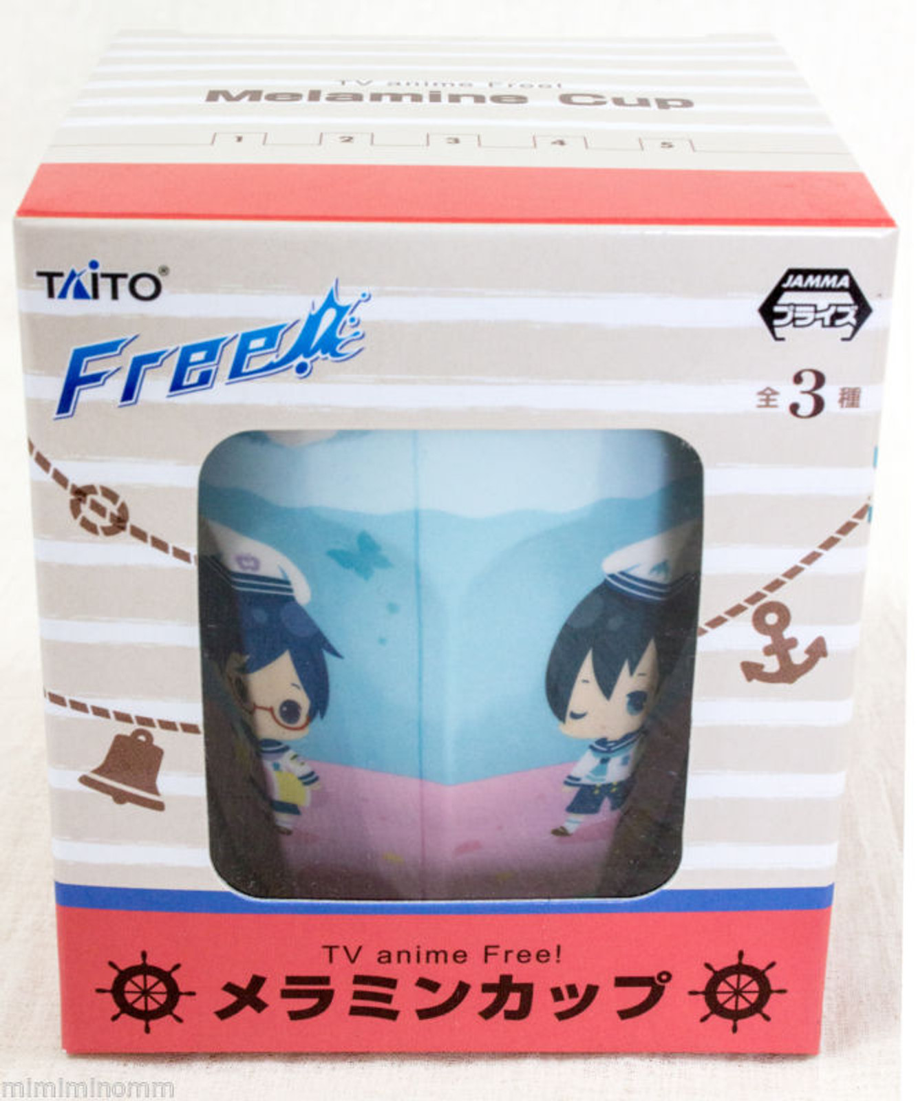 Free! Eternal Summer Melamine Art Cup Taito JAPAN ANIME MANGA