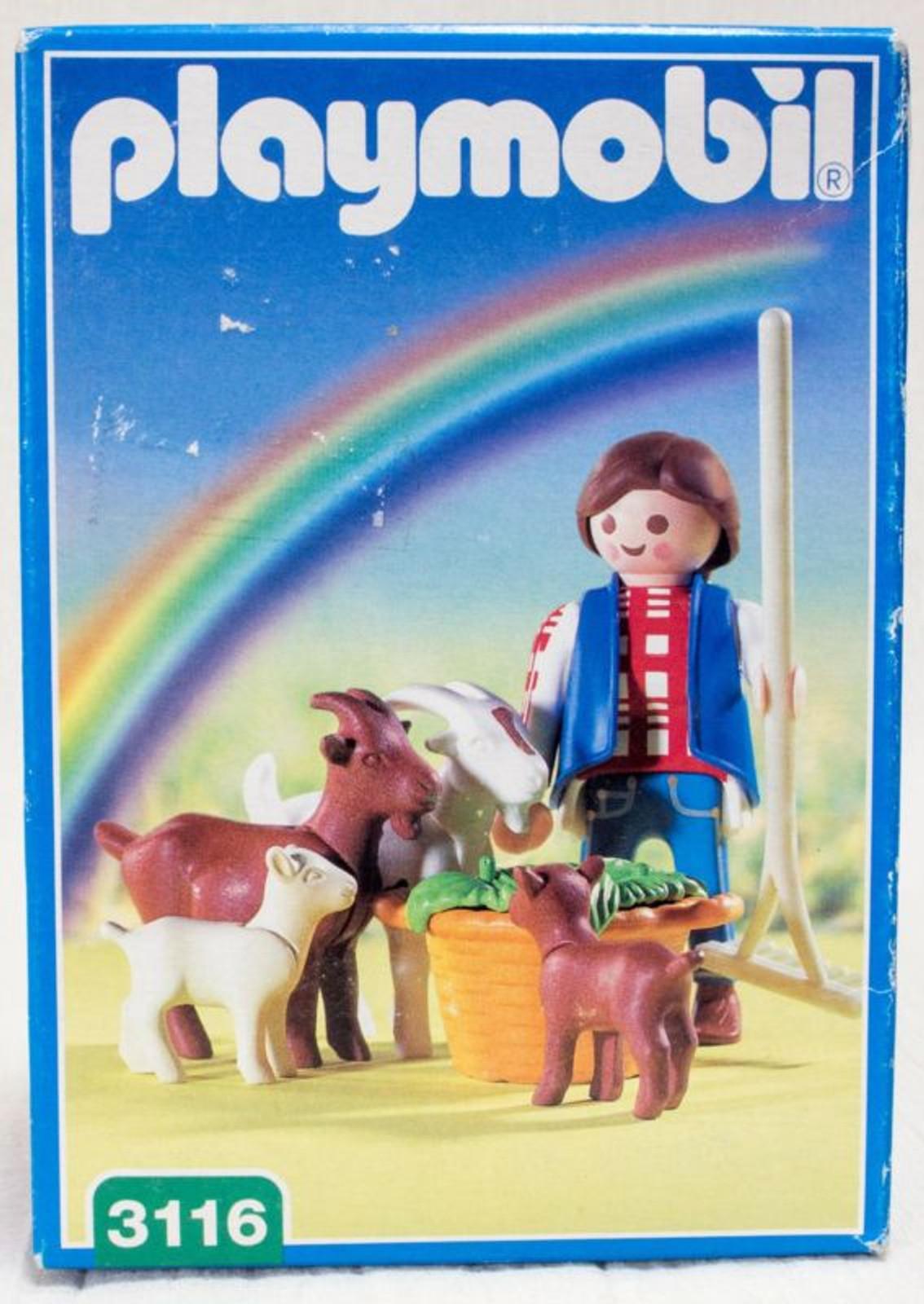 Playmobil 3116 Goat Hoarder Farm
