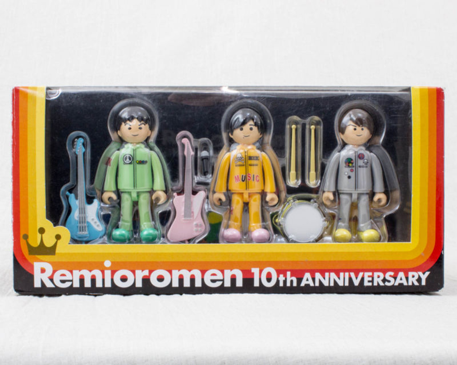 RARE! REMIOROMEN 10th Anniversary Member Figure Set JAPAN J-POP