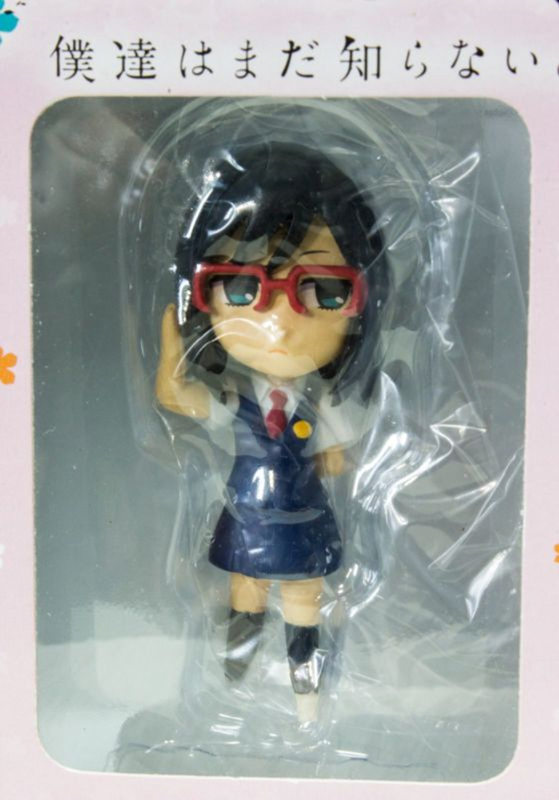 Anohana Tsuruko Mini Figure Taito Flower We Saw That Day JAPAN ANIME
