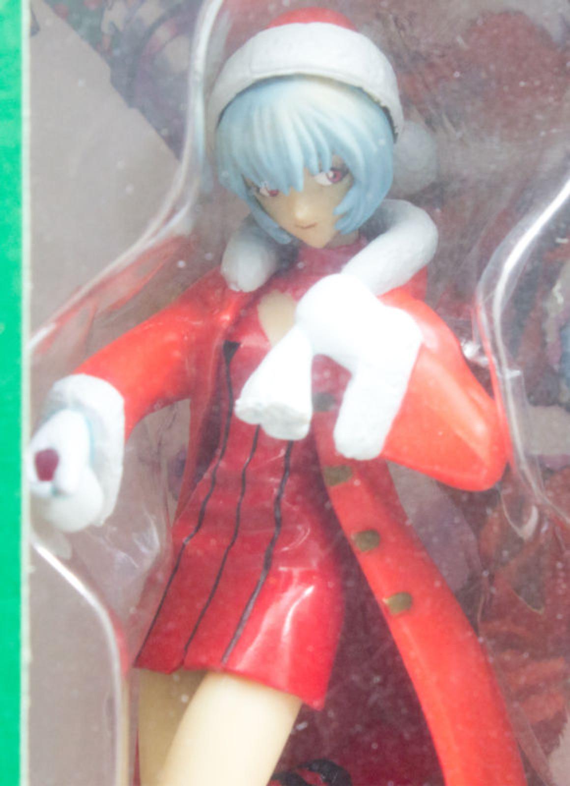 Evangelion Comics Limited Vol.7 Christmas Figure Rei Ayanami Ver. JAPAN ANIME