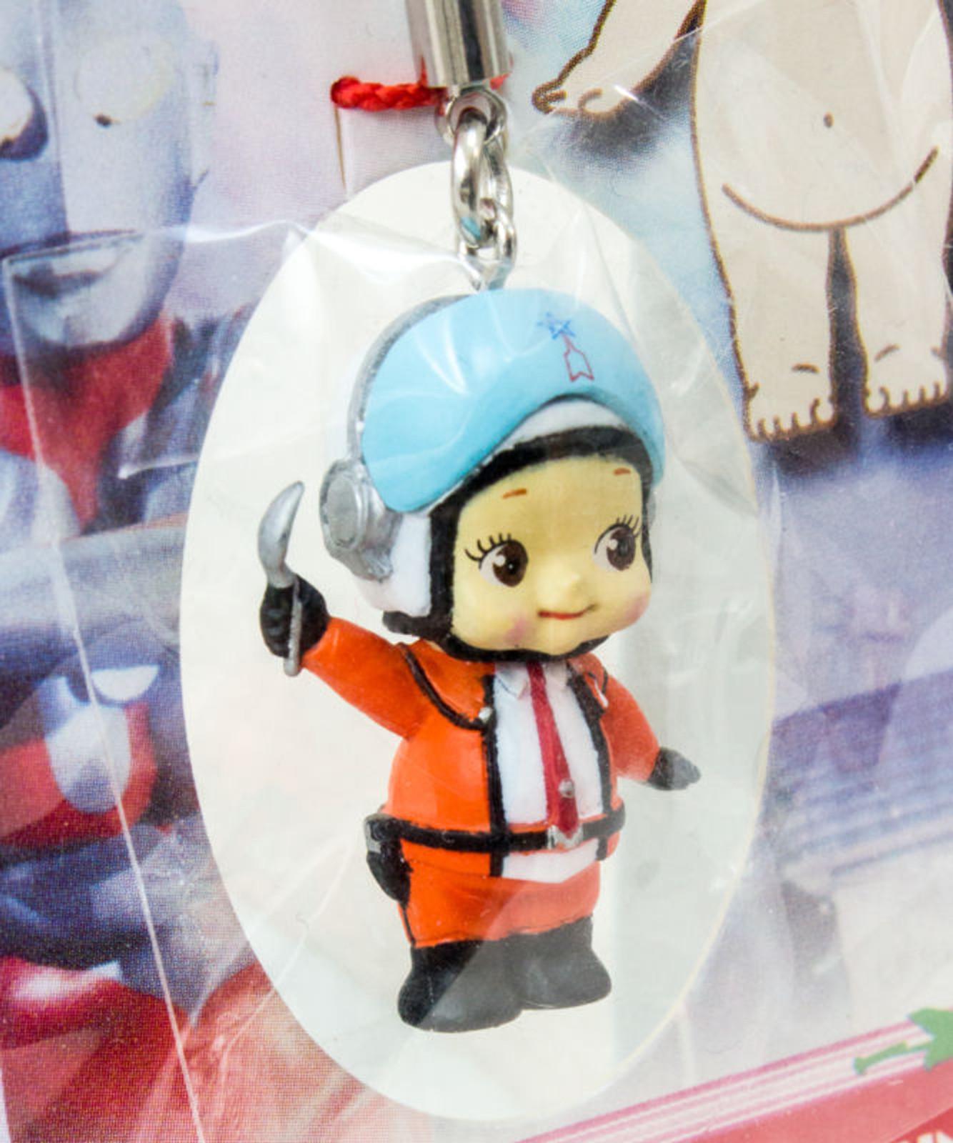 Ultraman Hayata Rose O'neill Kewpie Kewsion Figure Strap JAPAN ANIME