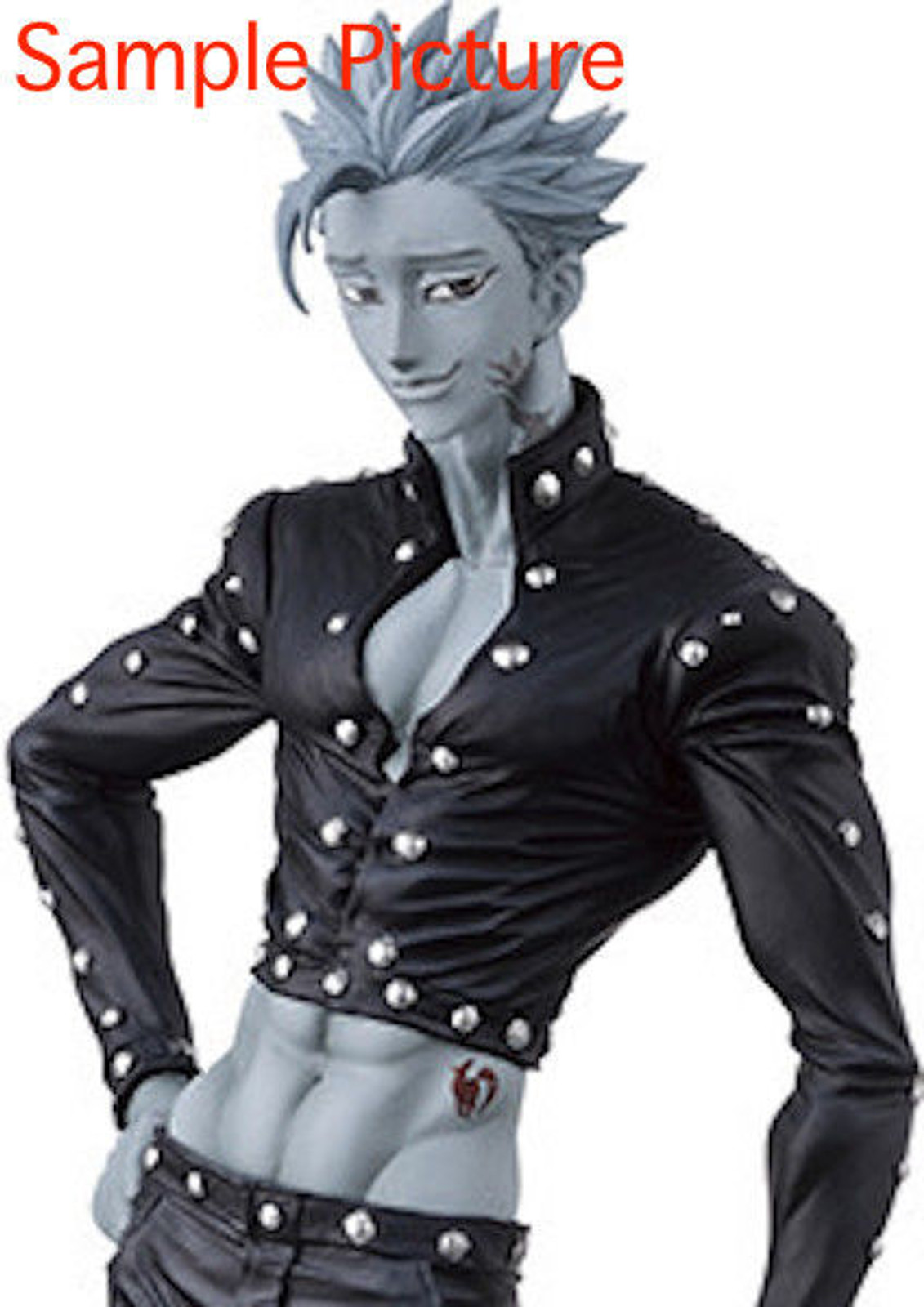 Seven Deadly Sins Ban Figure Monochrome Ver. Banpresto JAPAN ANIME MANGA