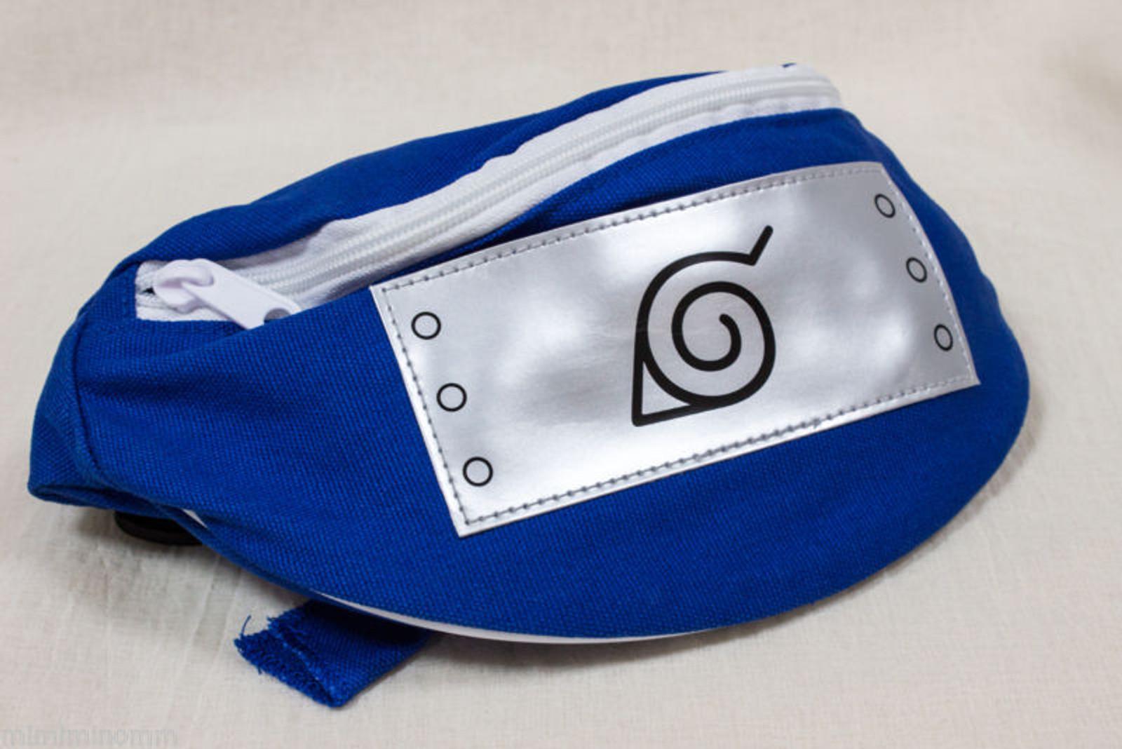 NARUTO Belt Bag Pouch Konoha Mark Banpresto JAPAN ANIME MANGA JUMP