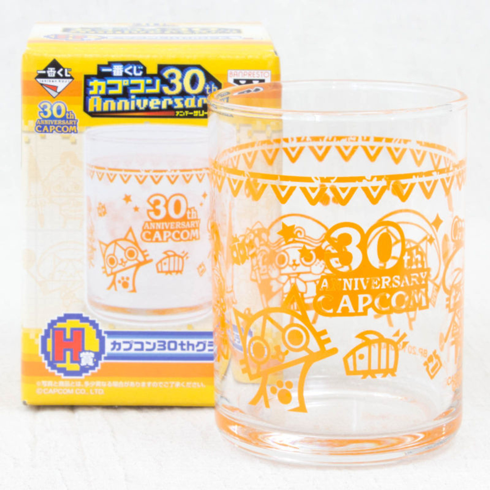 Capcom 30th Anniversary Glass Monster Hunter Felyne Ver. JAPAN GAME