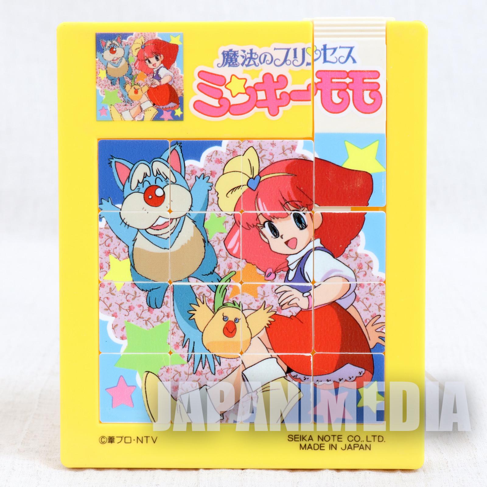 Magical Princess Minky Momo Sliding Puzzle SEIKA NOTE JAPAN ANIME MANGA