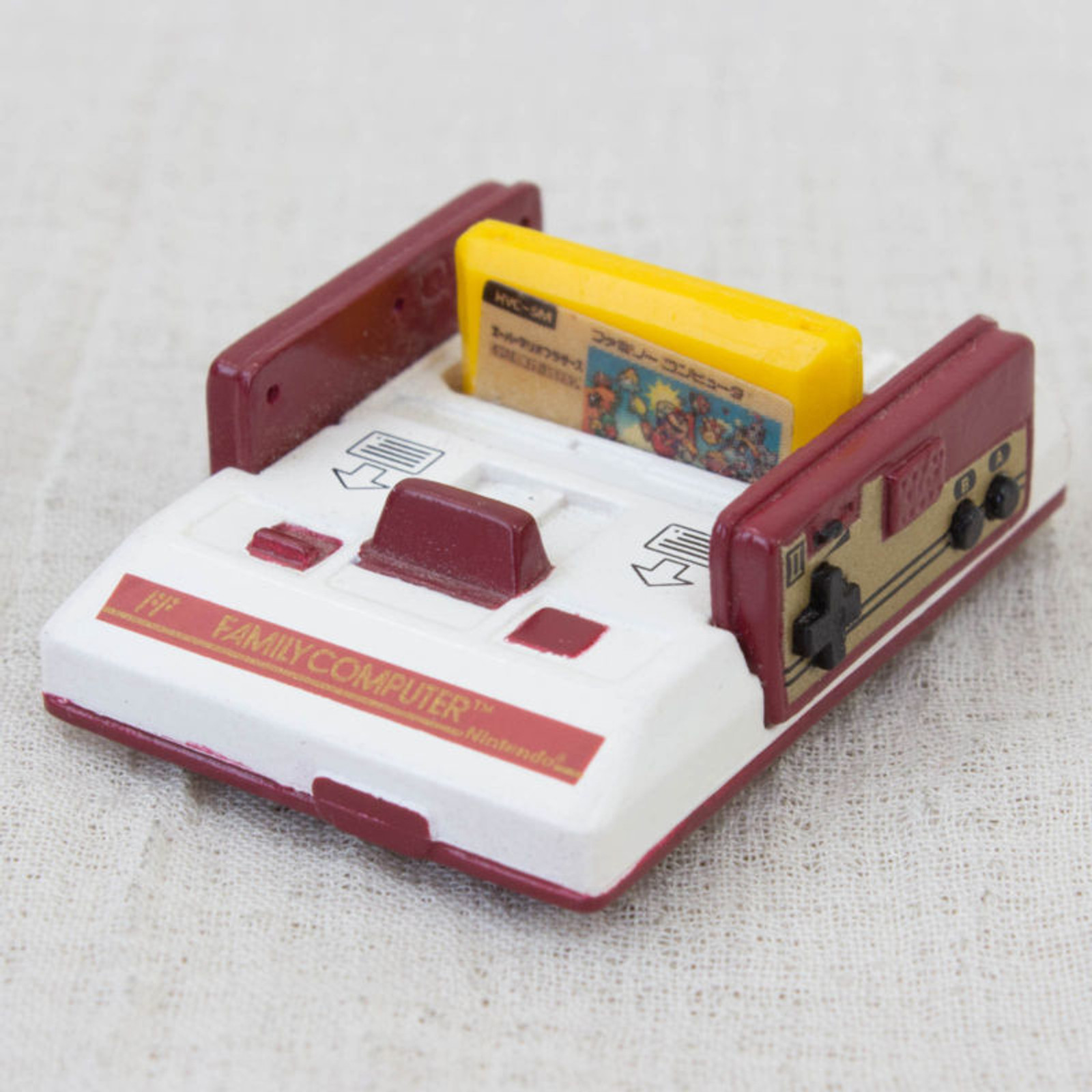Nintendo Game Machine Miniature Figure Family Computer Famicom HVC-001 NES