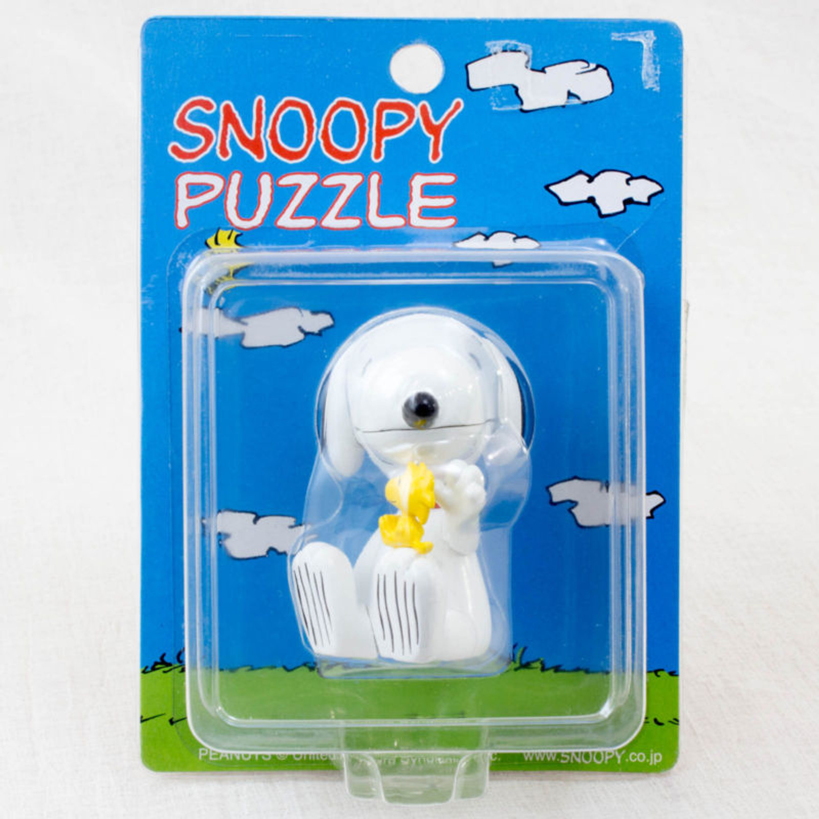 Snoopy Three-dimensional Puzzle Figure La chere JAPAN PEANUTS