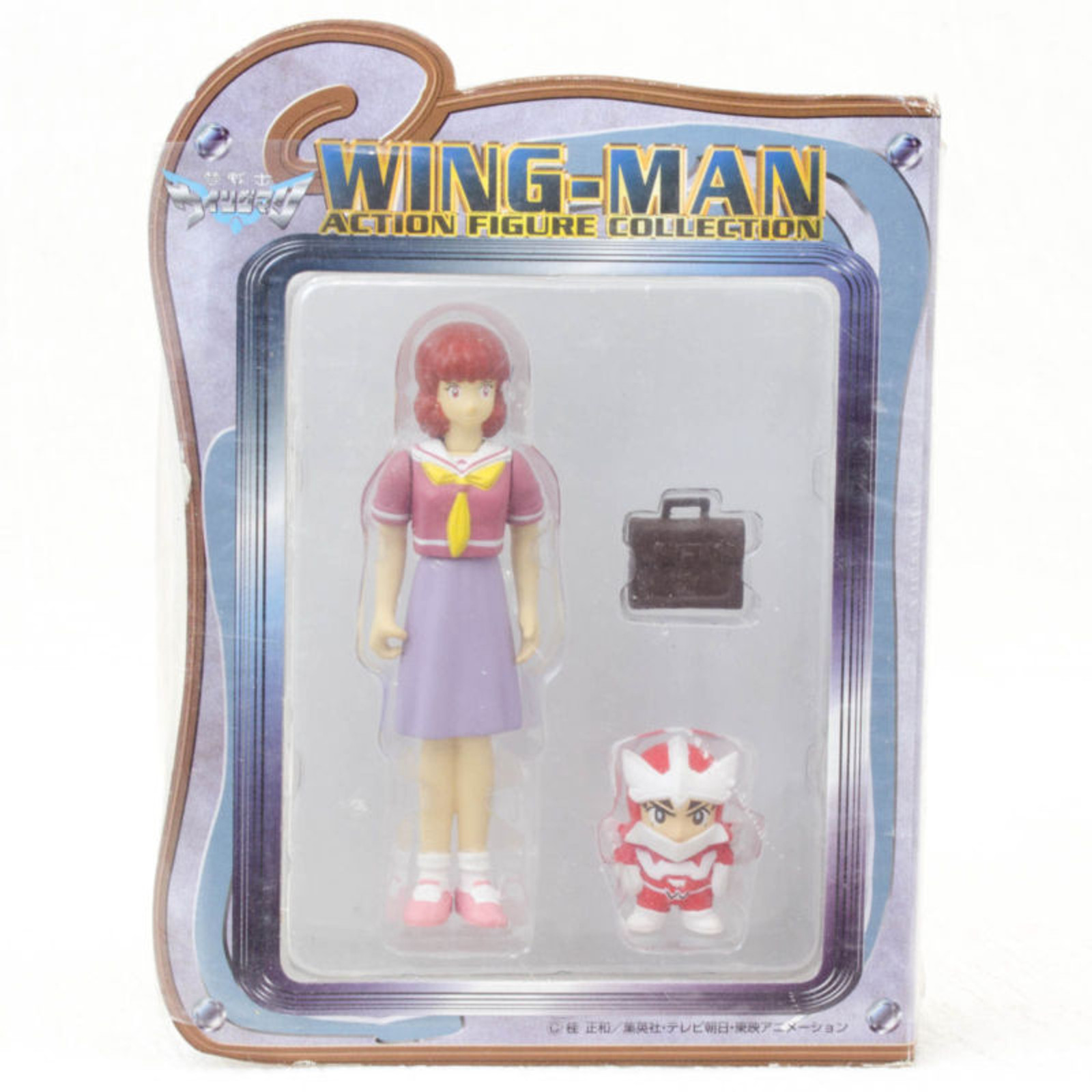 WINGMAN Miku Ogawa Action Figure Collection Banpresto JAPAN ANIME MANGA