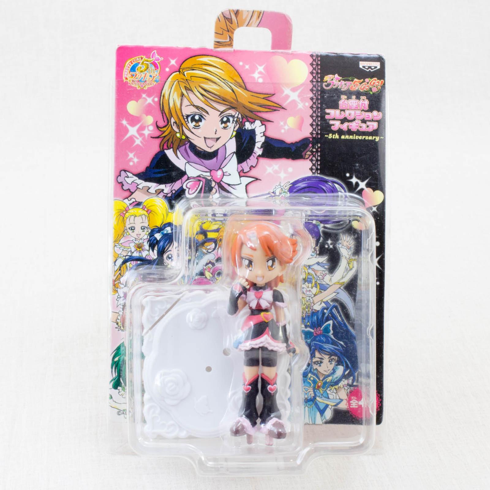 Futari wa Pretty Cure Cure Black Collection Figure w/Stand Banpresto JAPAN