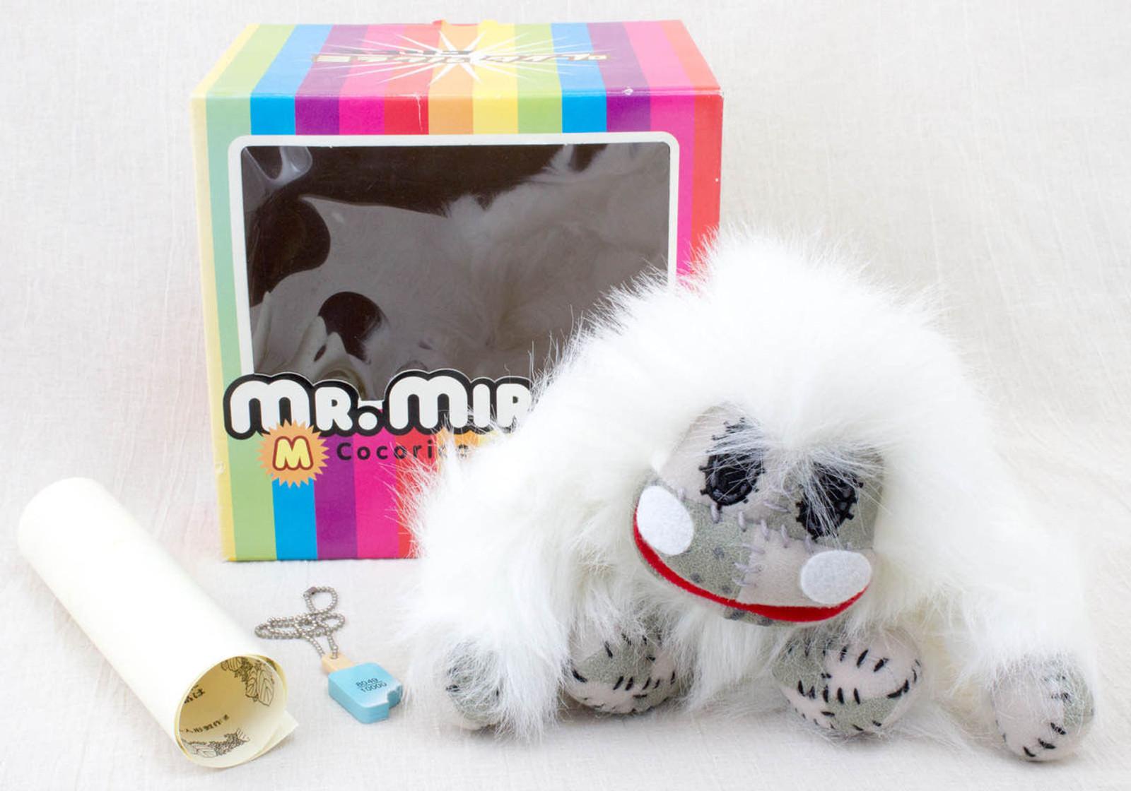 Cocorico Miracle Type MR. MIRACLE Plush Doll 2003 ver. JAPAN TV White gorila