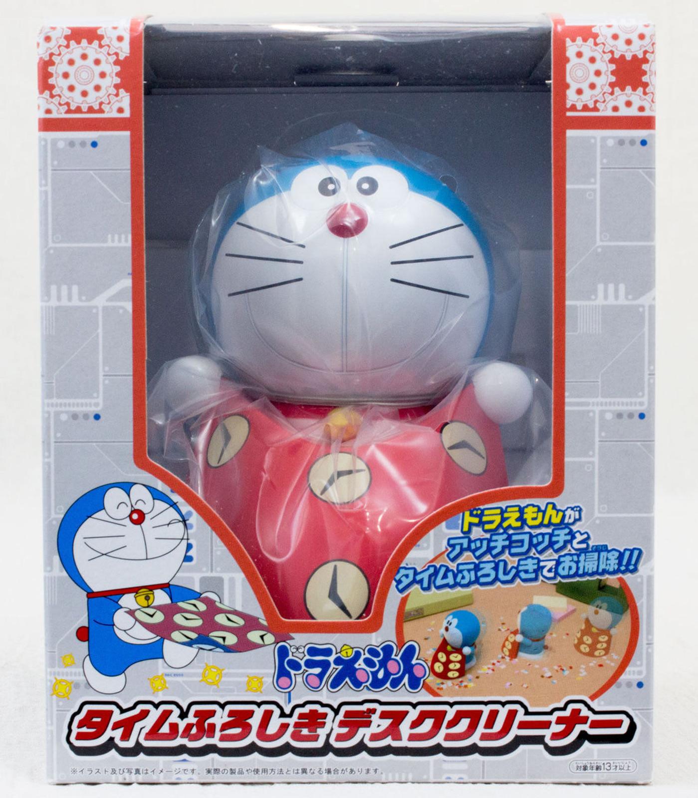 Doraemon Time Furoshiki Desk Cleaner Figure Taito JAPAN ANIME MANGA