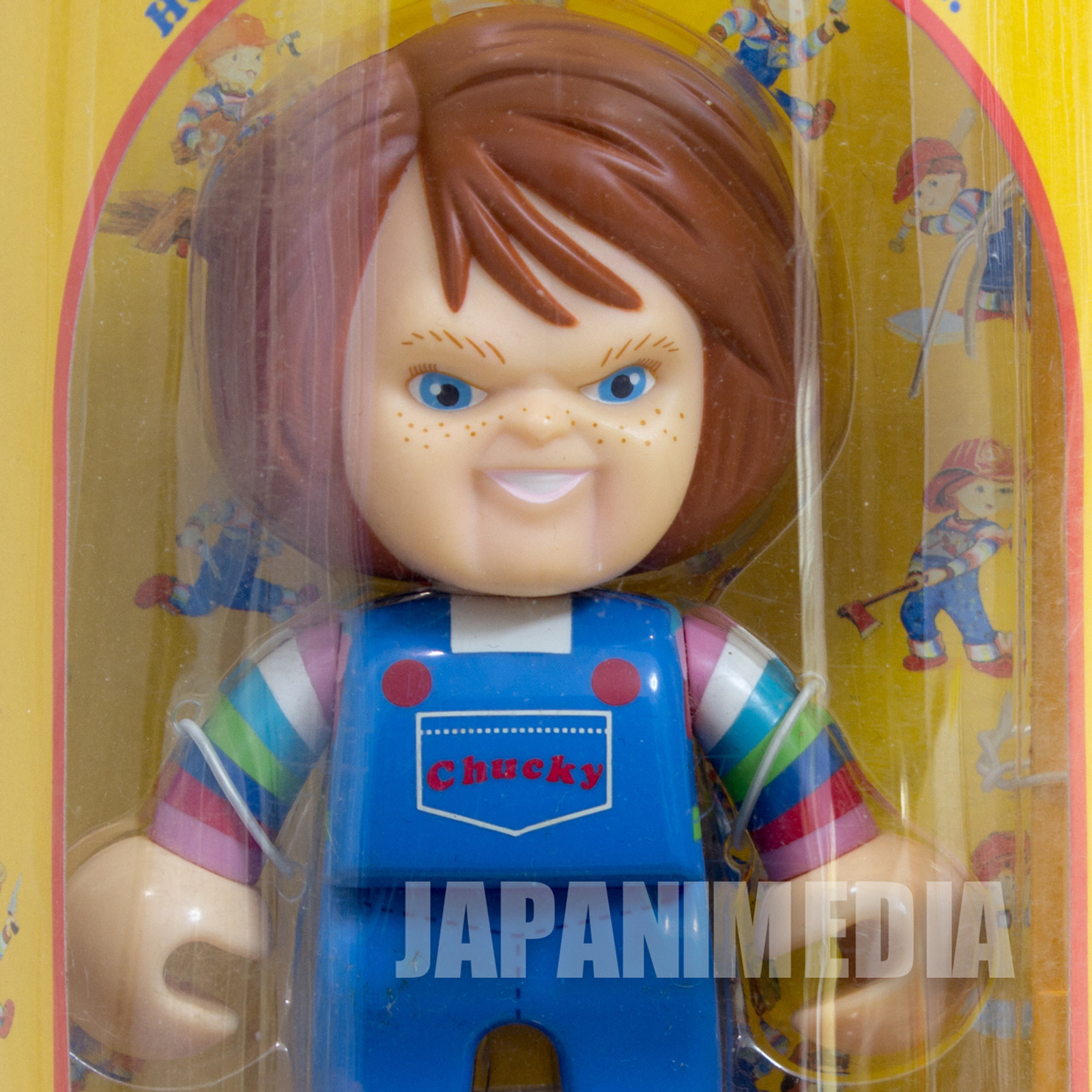 Child's Play 2 Chucky Good Guys Collection Toy Figure Ruler Ver. JAPAN SEGA