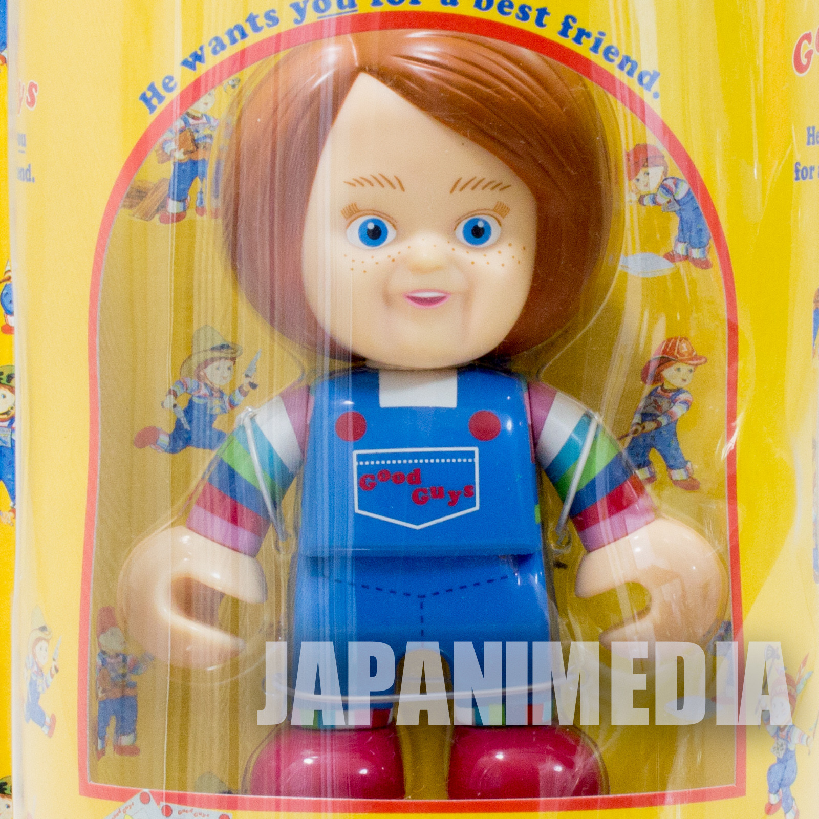 Child's Play 2 Chucky Good Guys Collection Toy Figure Normal Ver. JAPAN SEGA