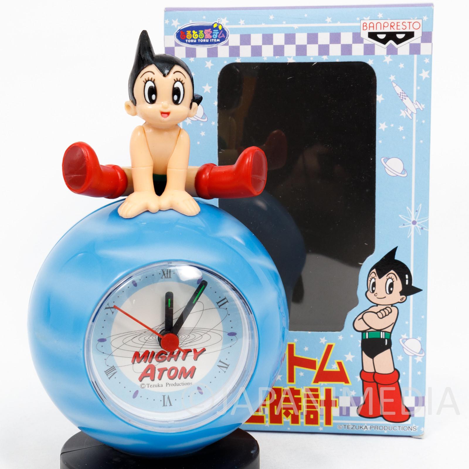 Astro Boy Atom Figure Clock Tezuka Osamu Banpresto JAPAN ANIME MANGA