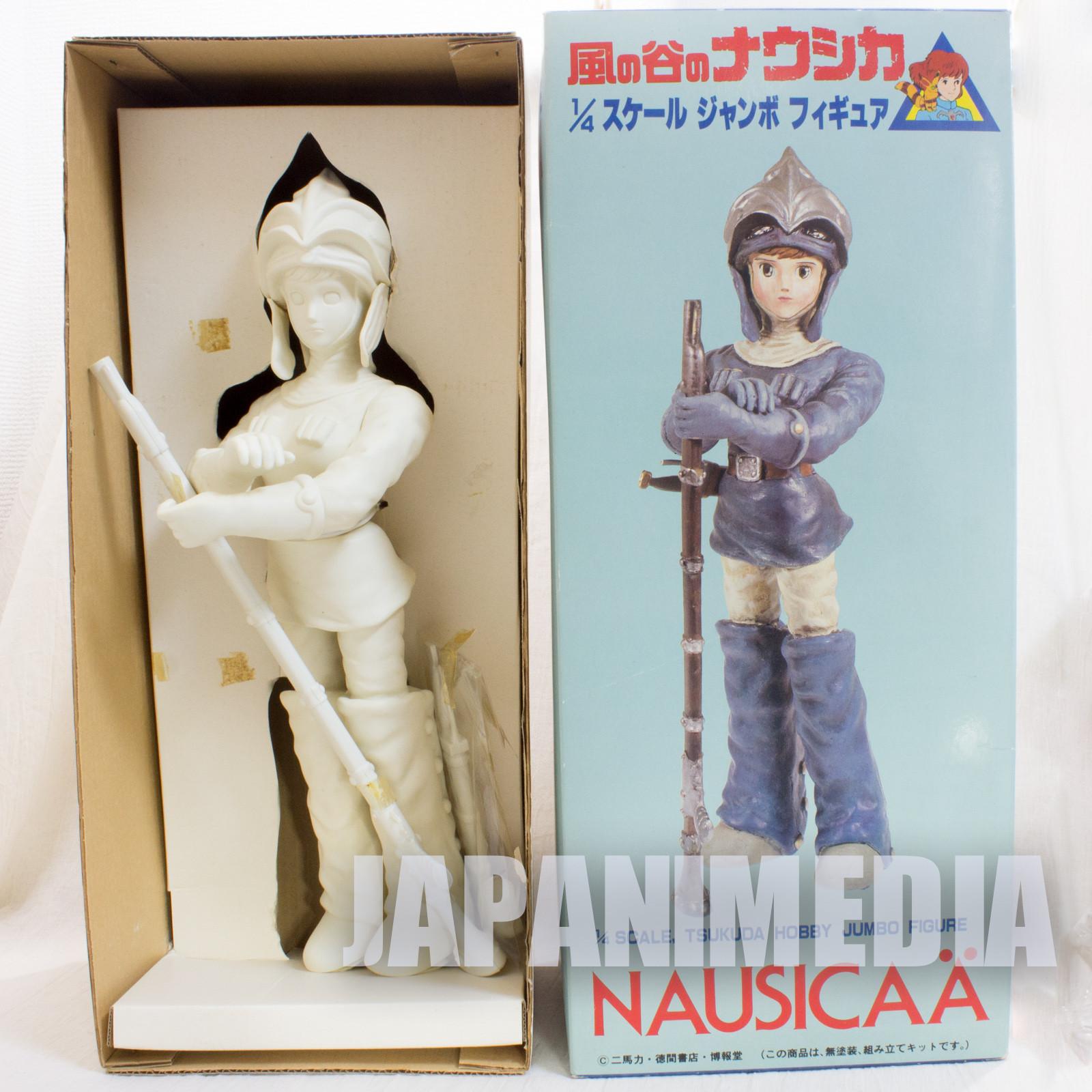 Nausicaa of the Valley of the Wind 1/4 Jumbo Model Kit Figure Tsukuda Ghibli