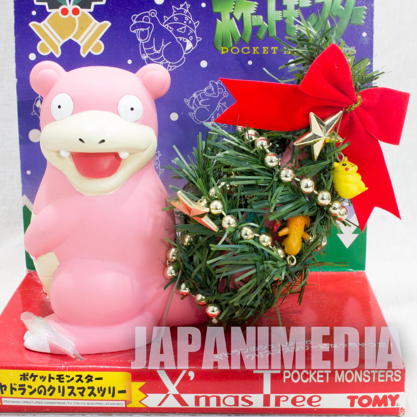 RARE! Pokemon Christmas Tree Slowbro Jadran Figure JAPAN ANIME MANGA