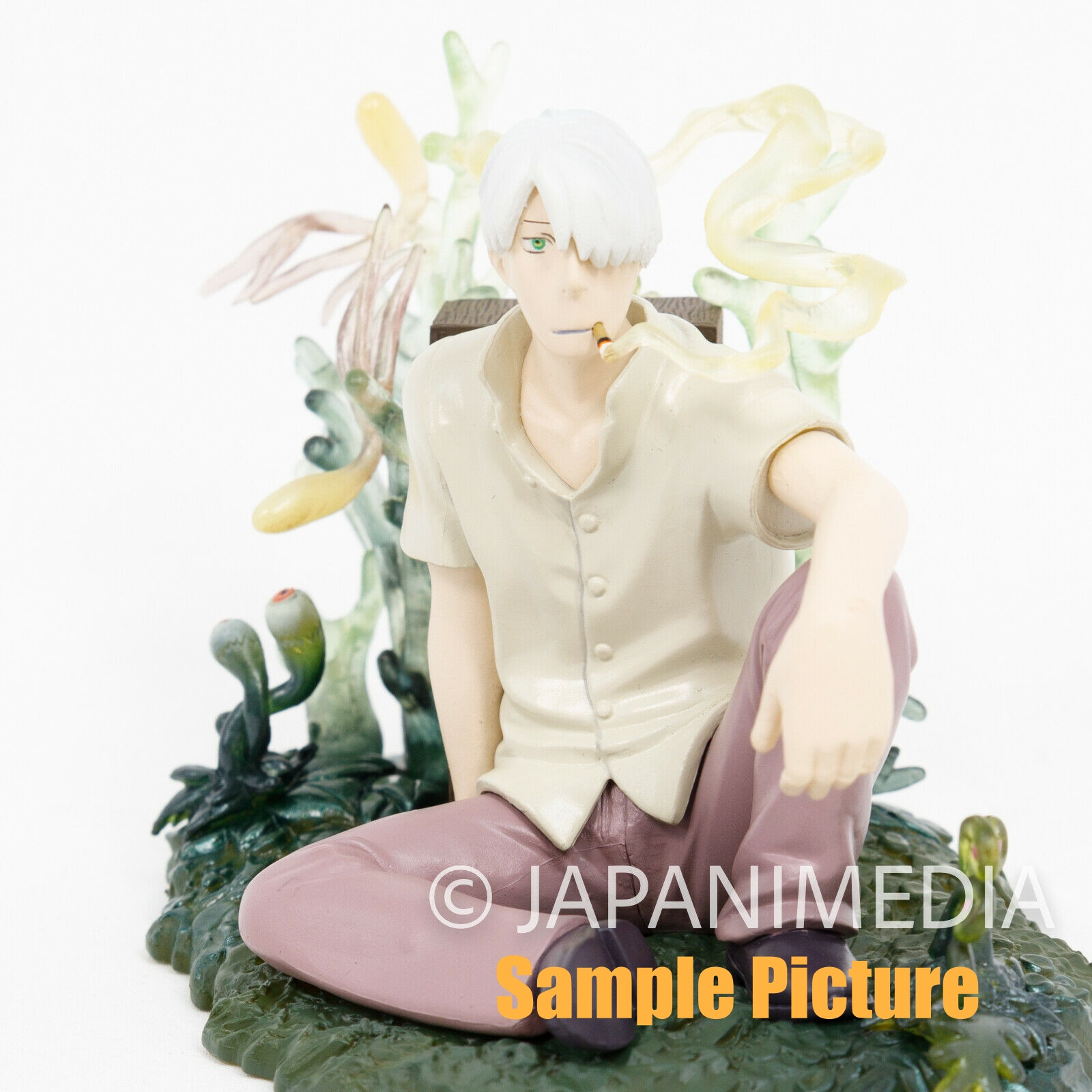 Mushishi Ginko Ultra Detail Figure Medicom Toy DVD Box Set JAPAN ANIME MANGA