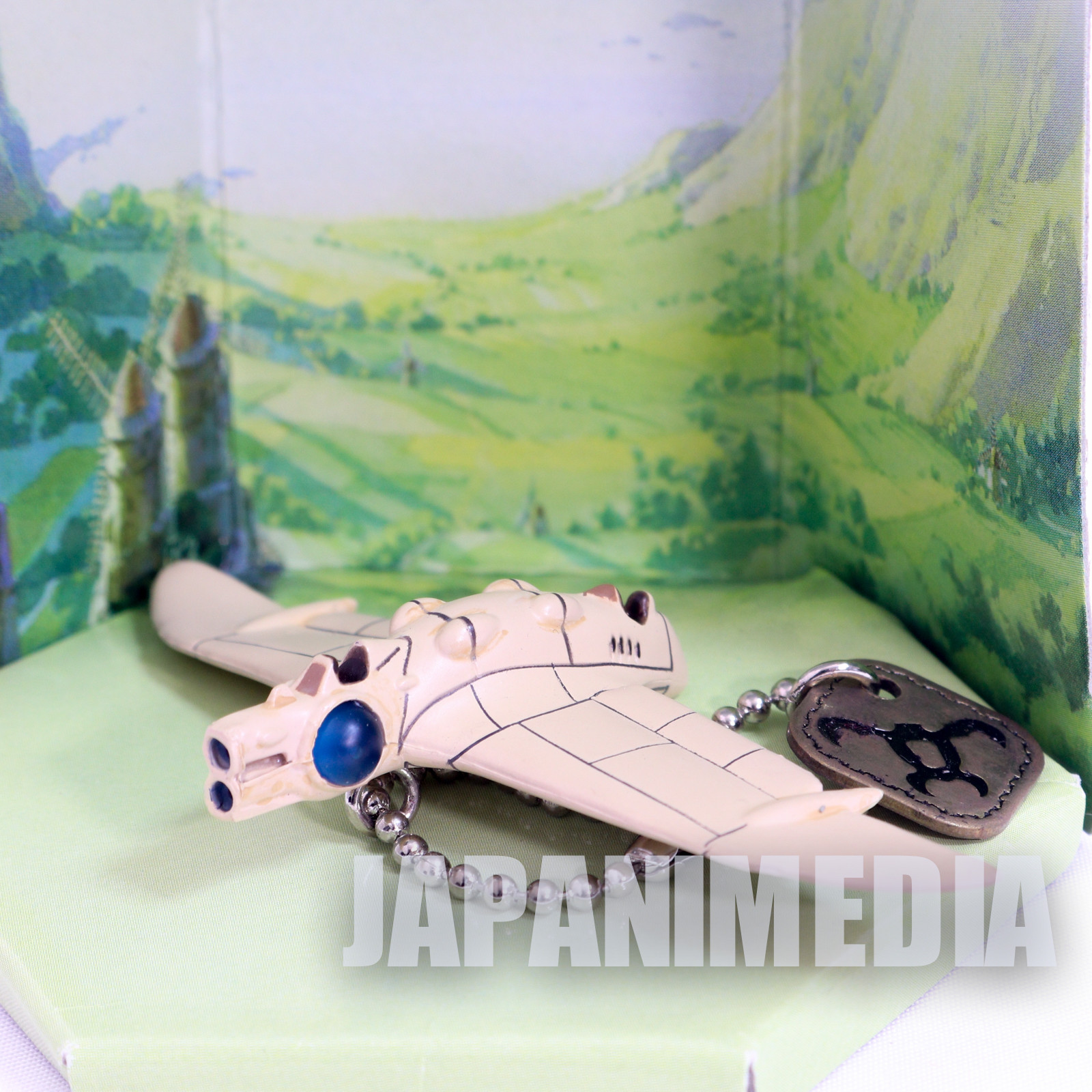 Nausicaa of the Valley of the Wind Gun Ship Mini Figure BallChain Ghibli JAPAN