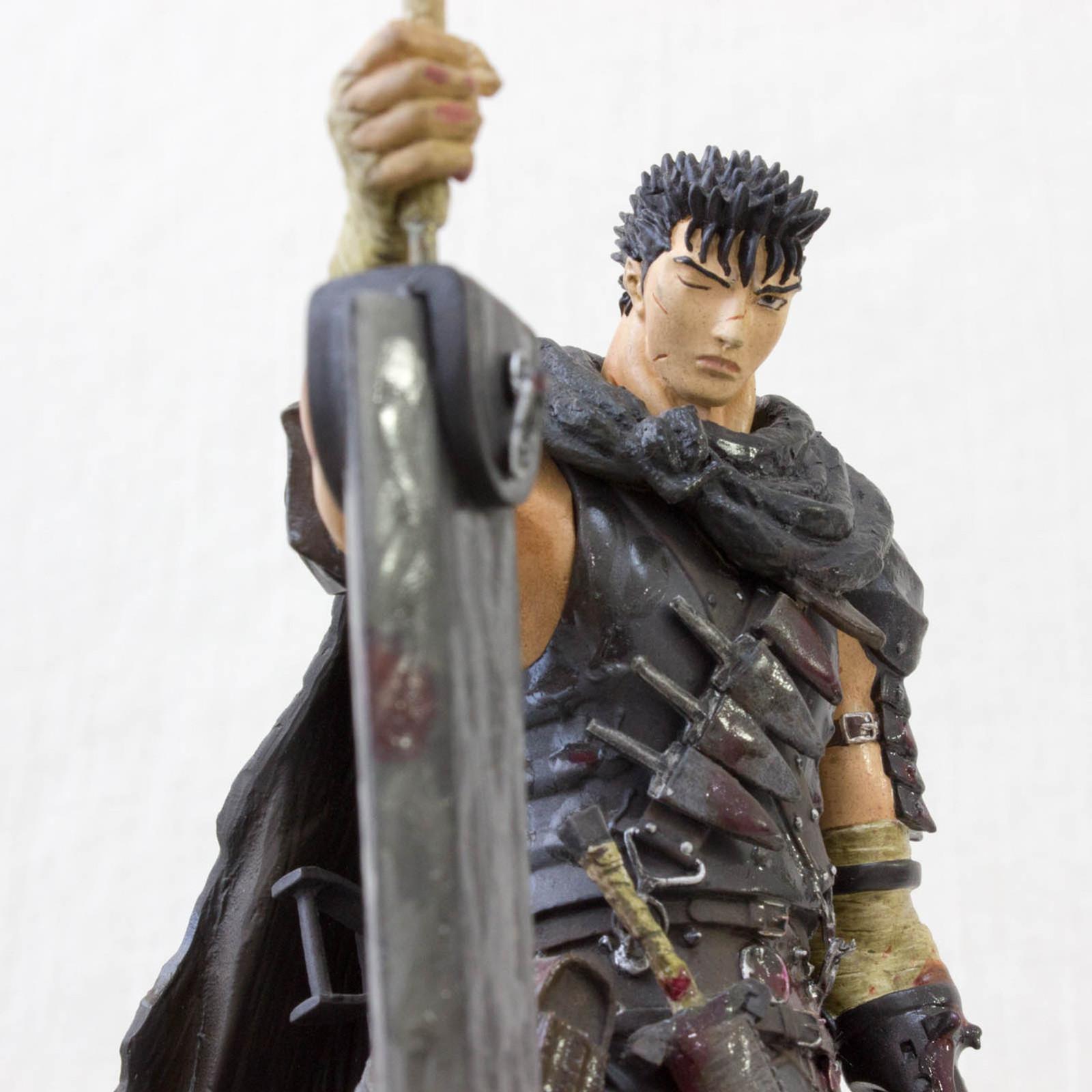 Berserk Guts Black Swordsman MAGUN Blood Splash Ver. Figure Art of War JAPAN