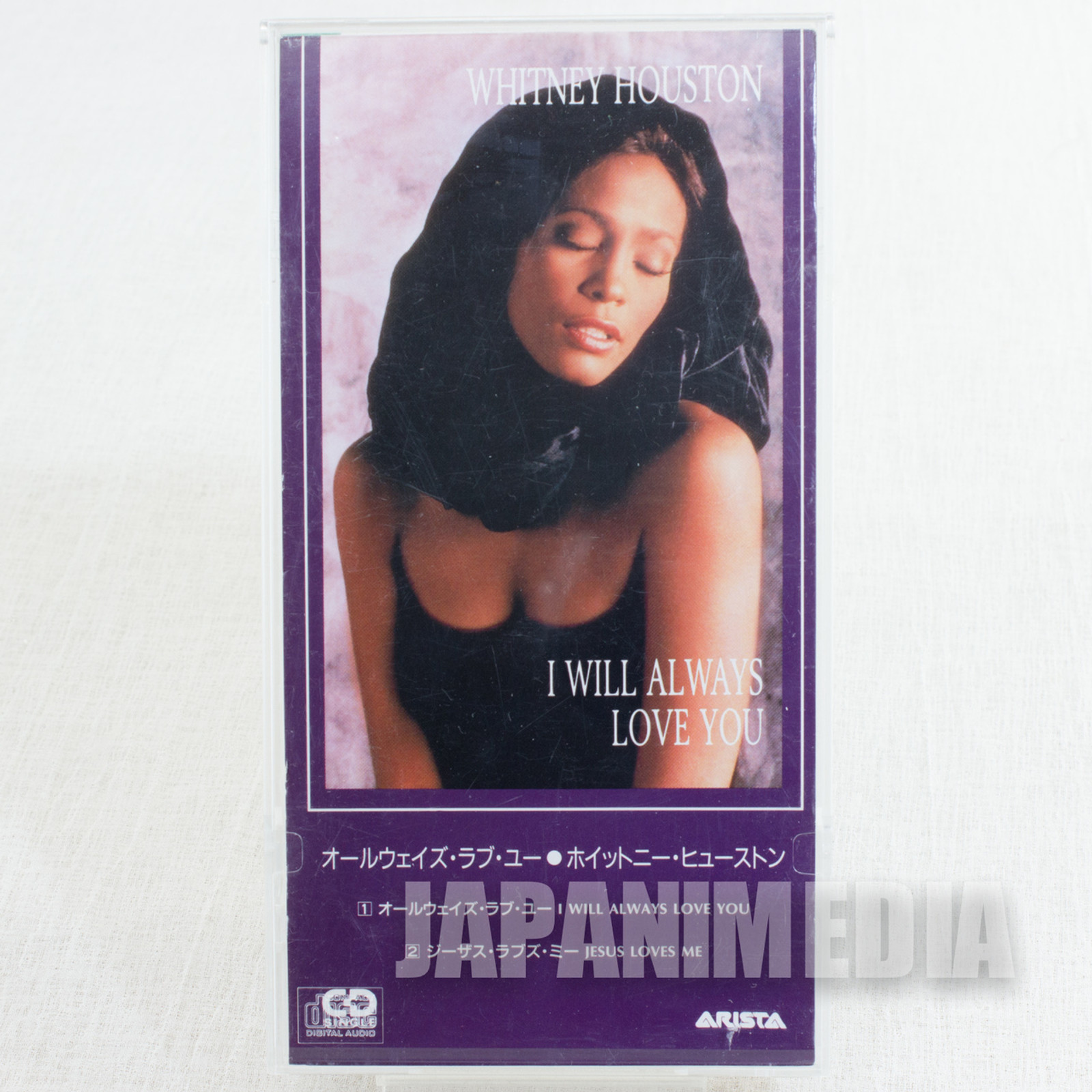 WHITNEY HOUSTON i will always love you JAPAN 3INCH 8cm Single CD