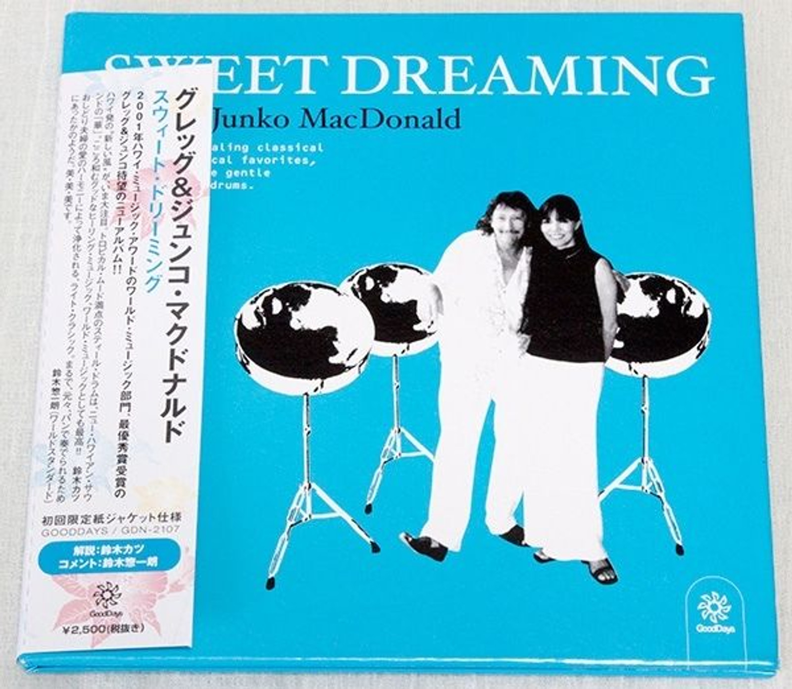 SWEET DREAMING Greg & Junko MacDonald Japan Mini-LP CD GDN-2107