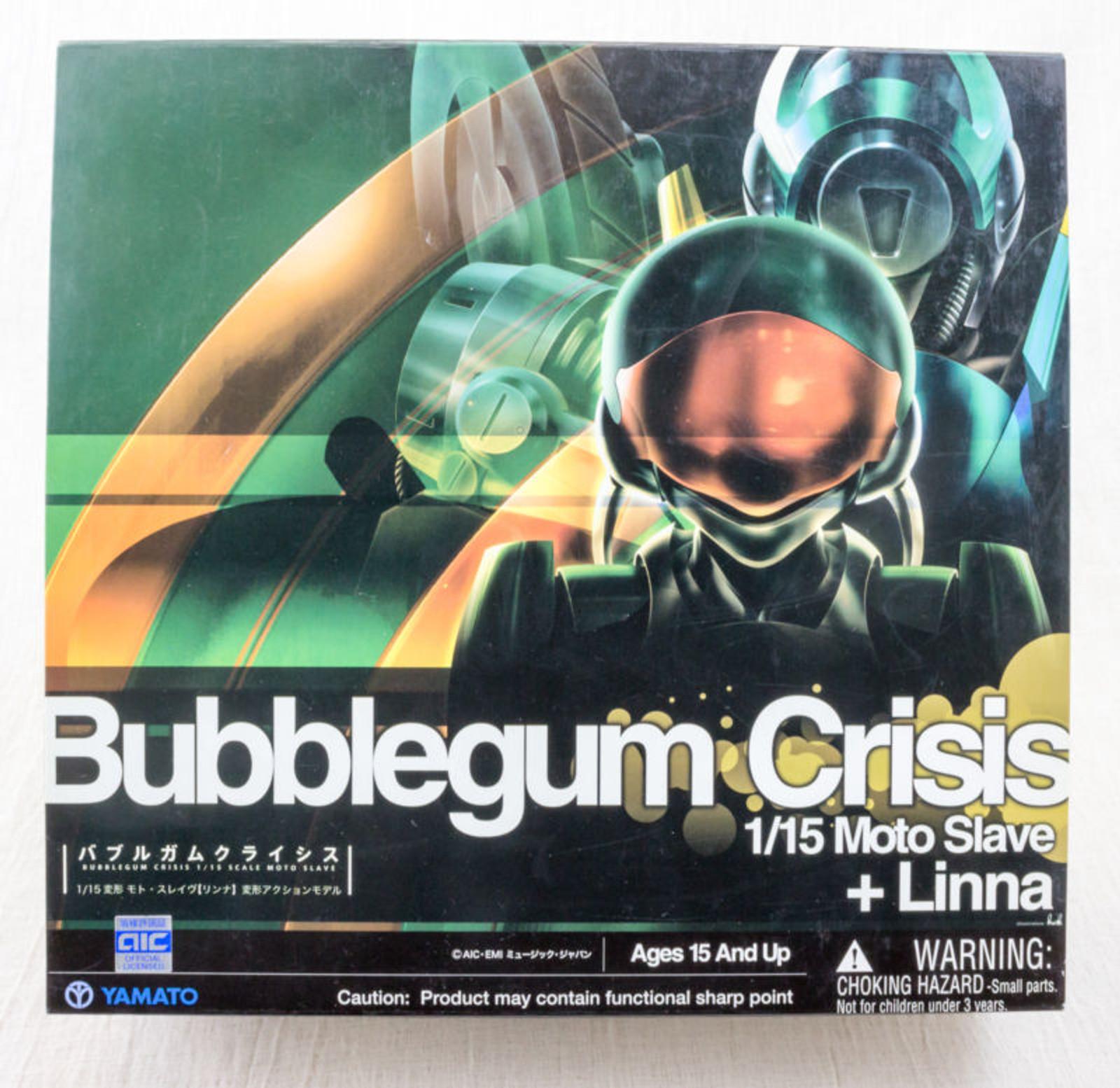 Bubblegum Crisis Linna 1/15 Scale Moto Slave Figure Yamato JAPAN ANIME MANGA