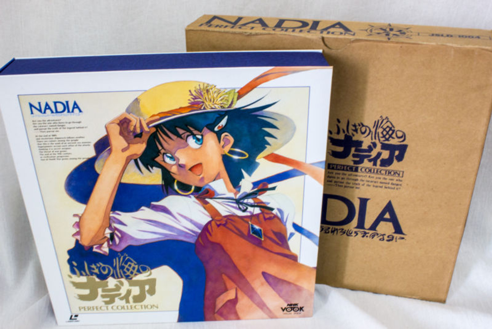 Nadia The Secret of Blue Water Perfect Collection LD-Box Laser Disc JAPAN ANIME