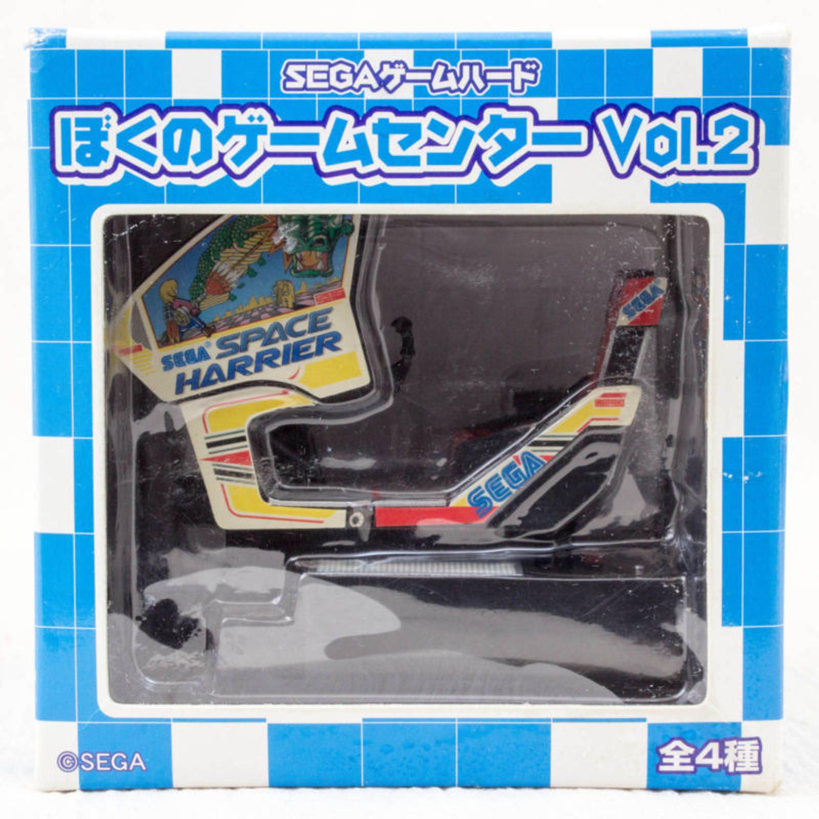 RARE!! Boku no My Game Center Vol.2 Space Harrier Miniature Figure SEGA