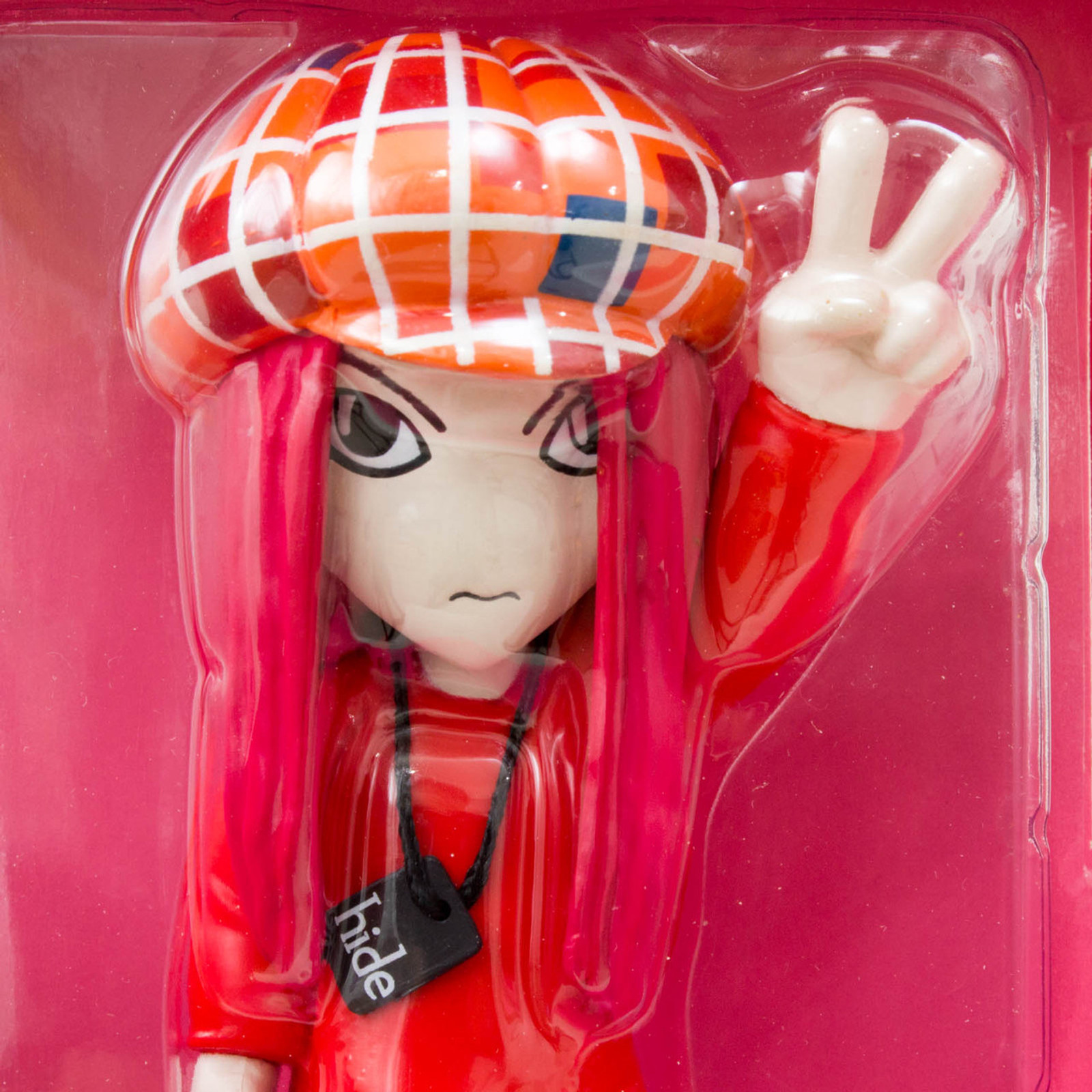 hide X-Japan Figure Collection Headwax Banpresto J-Rock Visual Kei Heavy Metal