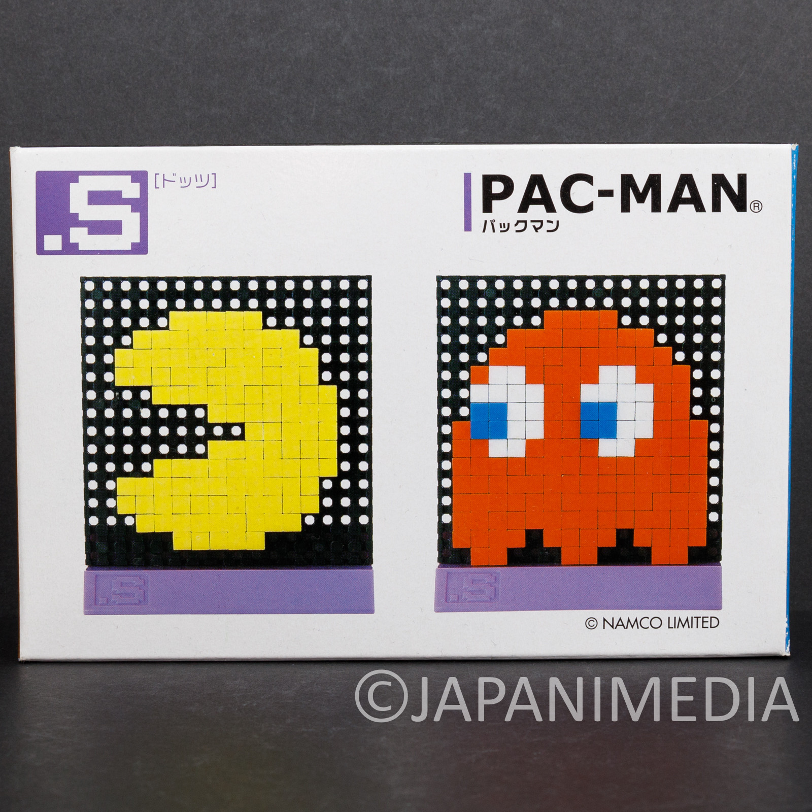 Pac-Man Dots .S Puzzle Pin Panel Toy Tomytec JAPAN FAMICOM NES