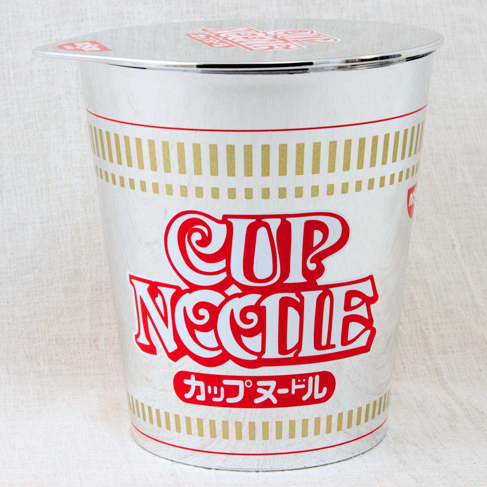 "RARE! Nissin Cup Noodle Package type Music Box ""Mirai Yosouzu2"" Limited JAPAN"