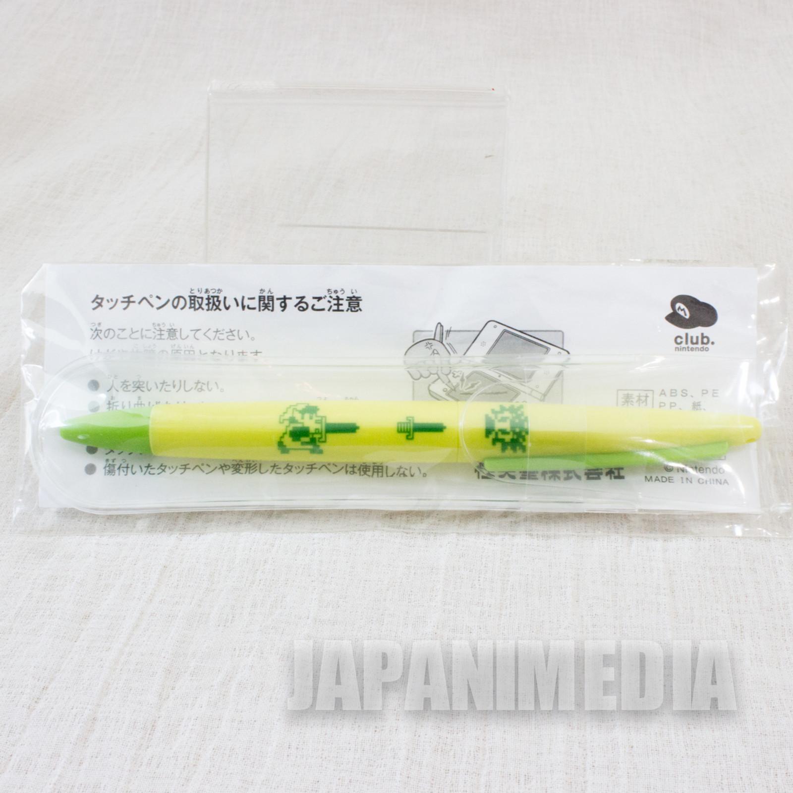 Legends of Zelda Pastel Color DS Touch Pen Club Nintendo JAPAN FAMICOM