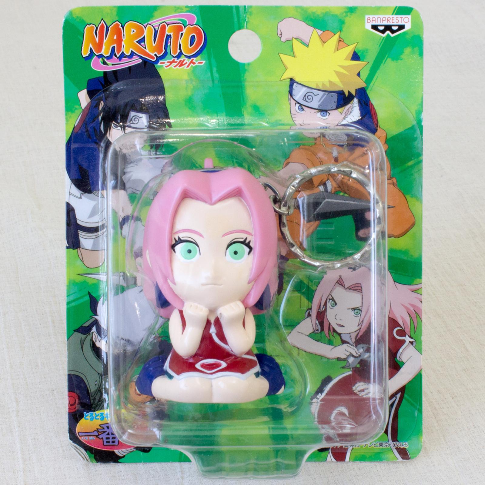 NARUTO Sakura Haruno Keychain Figure Banpresto JAPAN ANIME MANGA JUMP