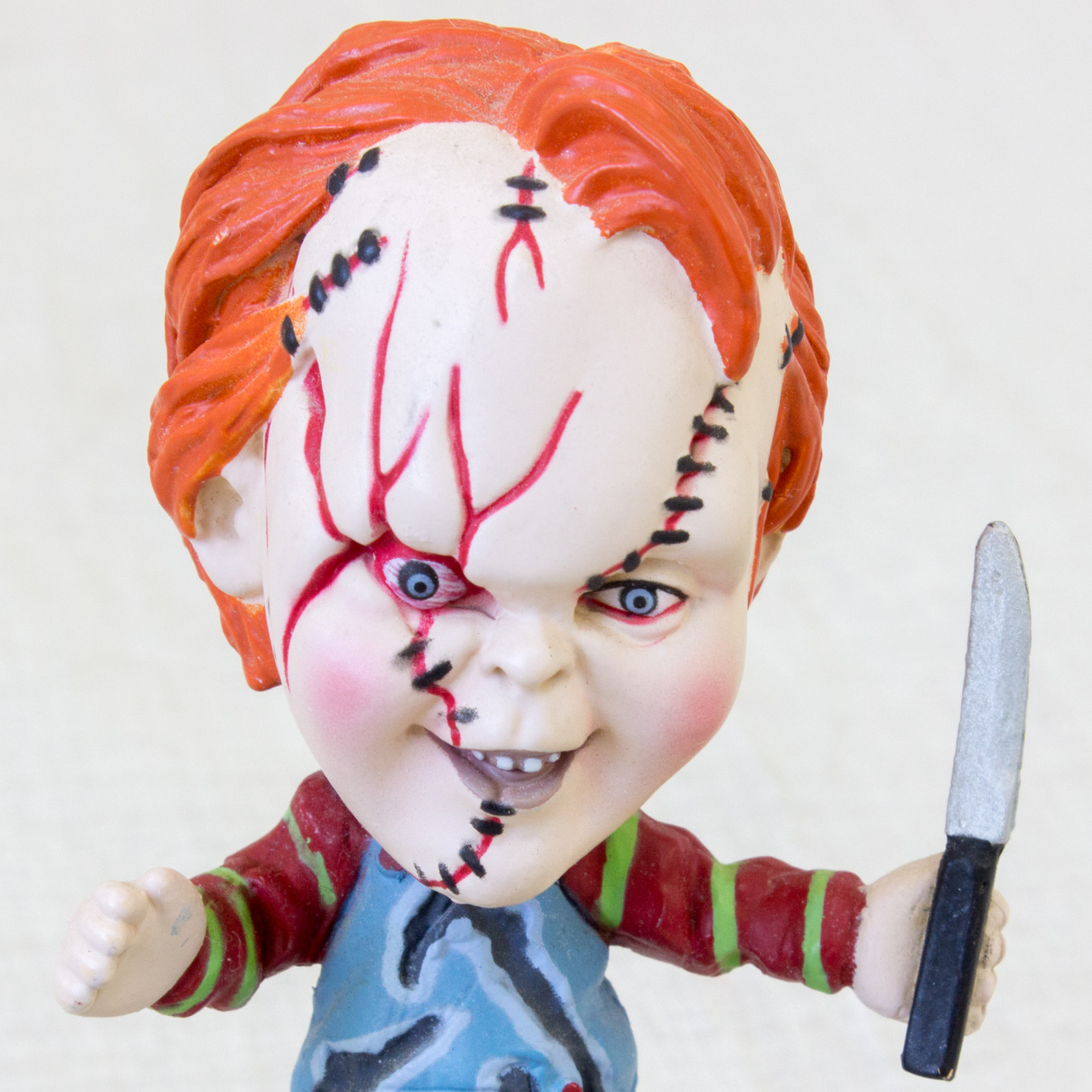 Bride of Chucky Chucky Little Big Head Figure Sideshow Toy /  Child's Play