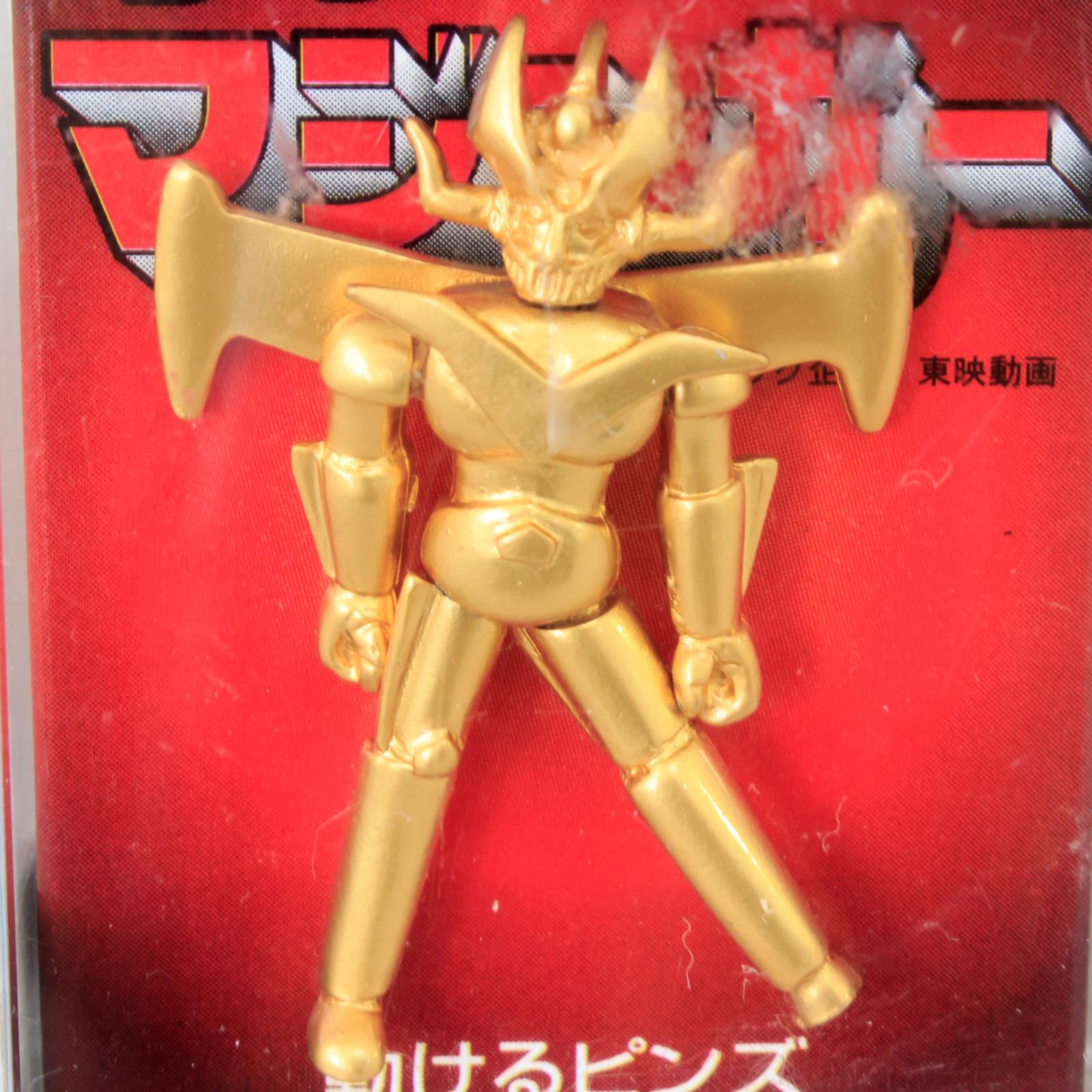 Retro Rare! Great Mazinger Action Pins JAPAN ANIME MANGA NAGAI GO