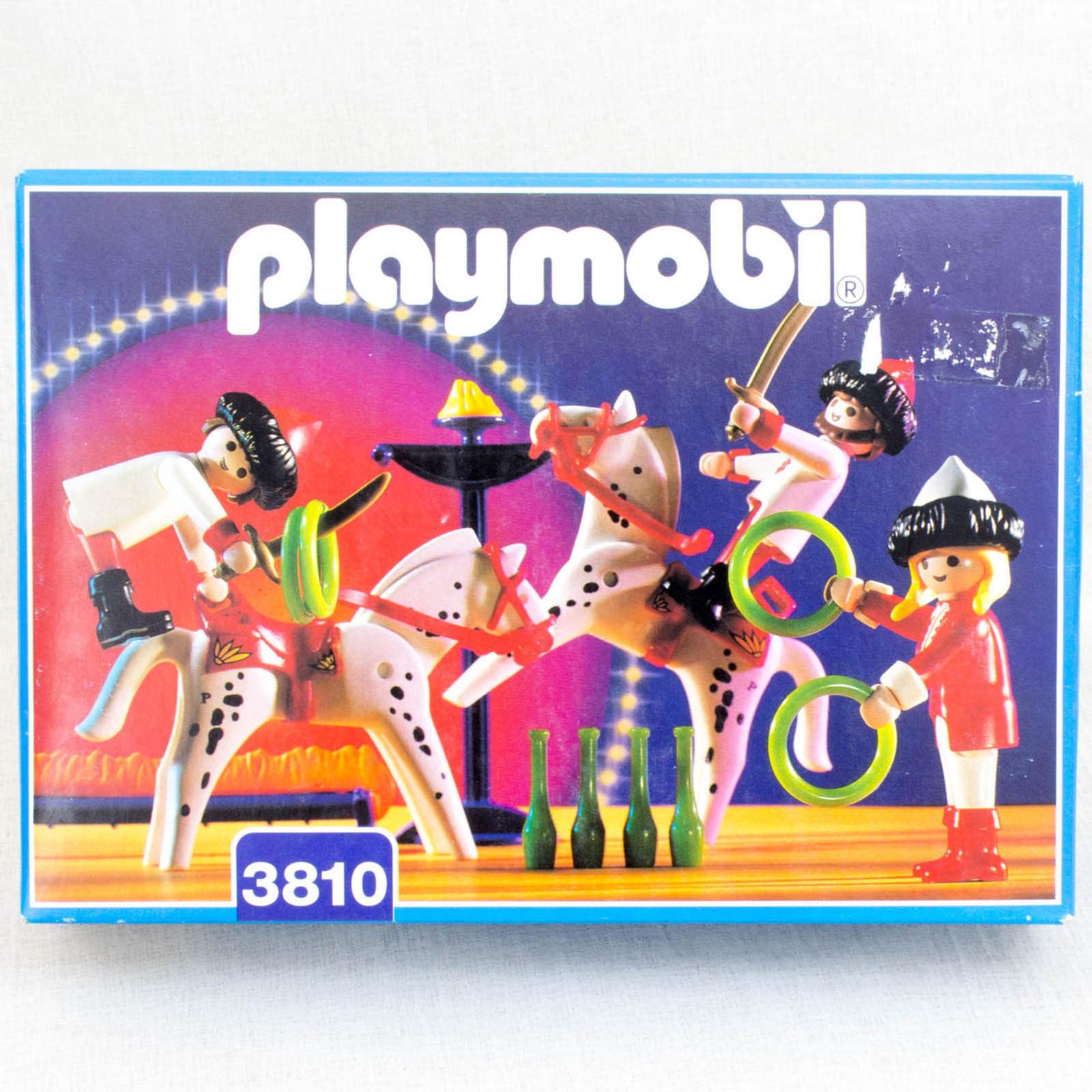PLAYMOBIL 3810 Circus Rinding Horse Set
