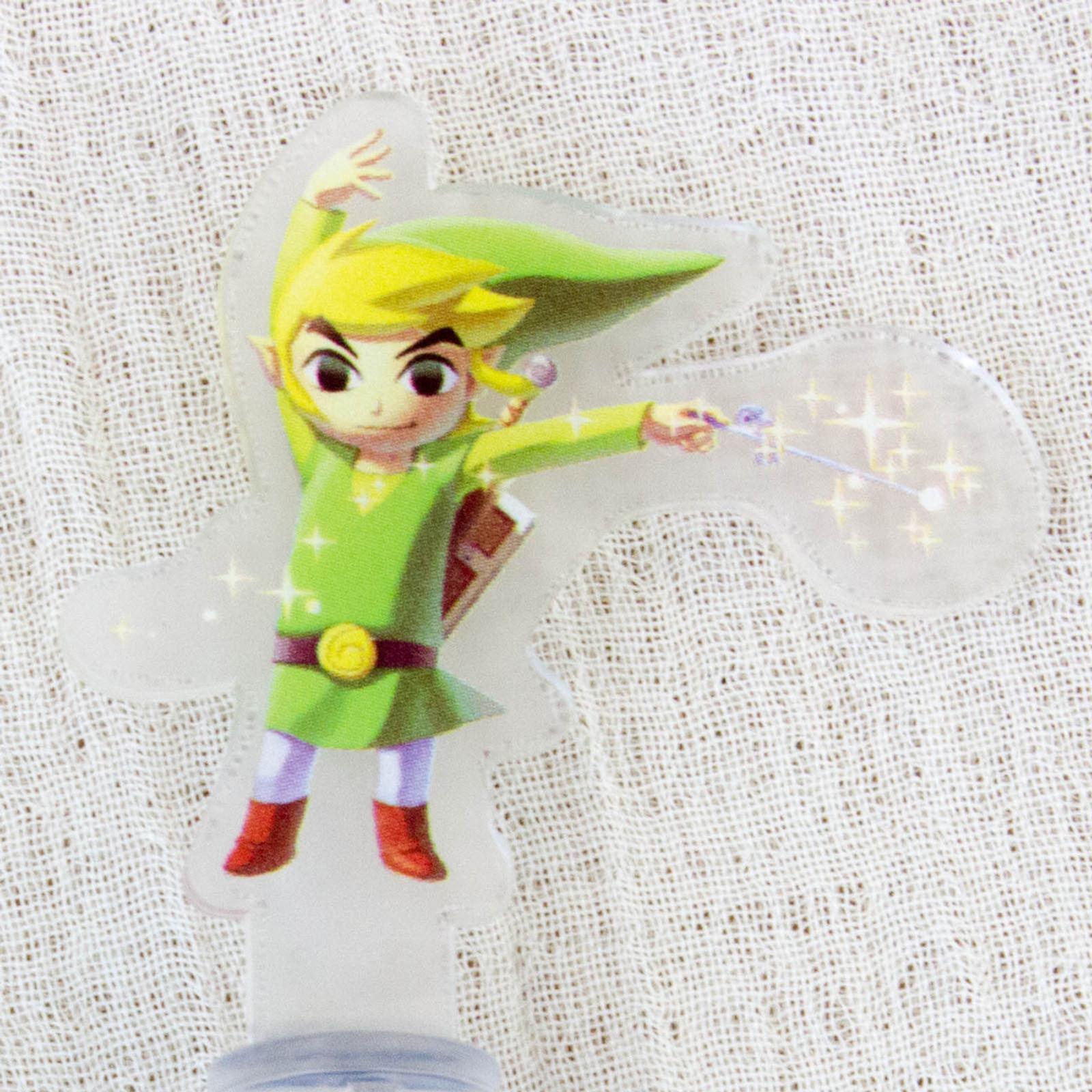 Legend of Zelda Historical 3DS Chara Touch Pen JAPAN FAMICOM NES NINTENDO 4
