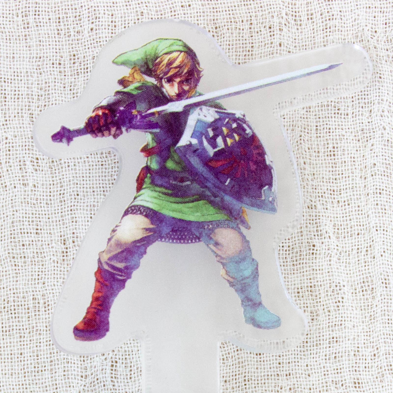 Legend of Zelda Historical 3DS Chara Touch Pen JAPAN FAMICOM NES NINTENDO 5