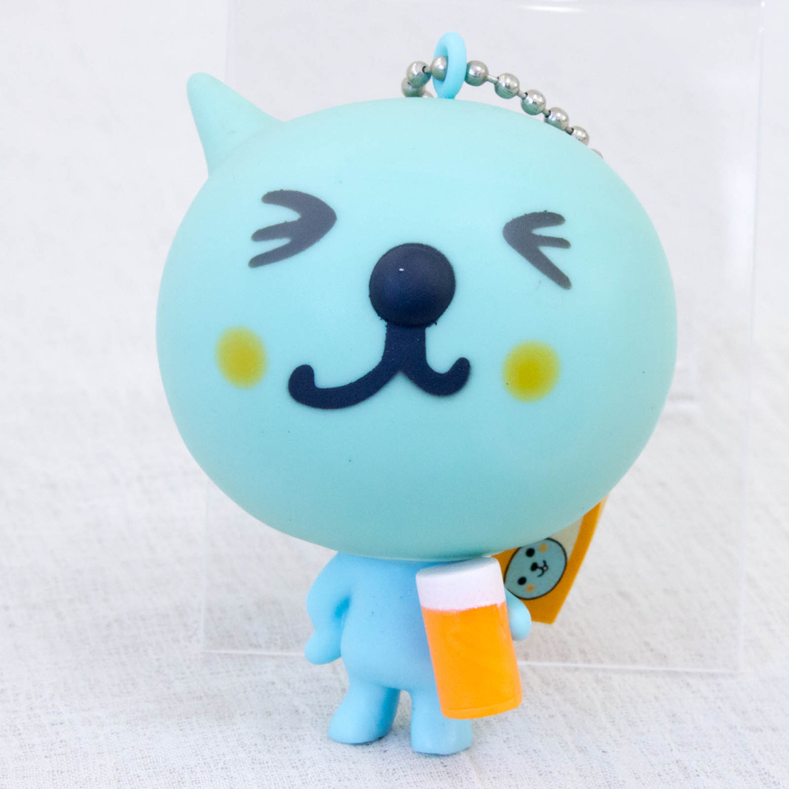 "QOO Mascot Figure Key chain 2.5"" Coca-Cola Japan Limited 1"