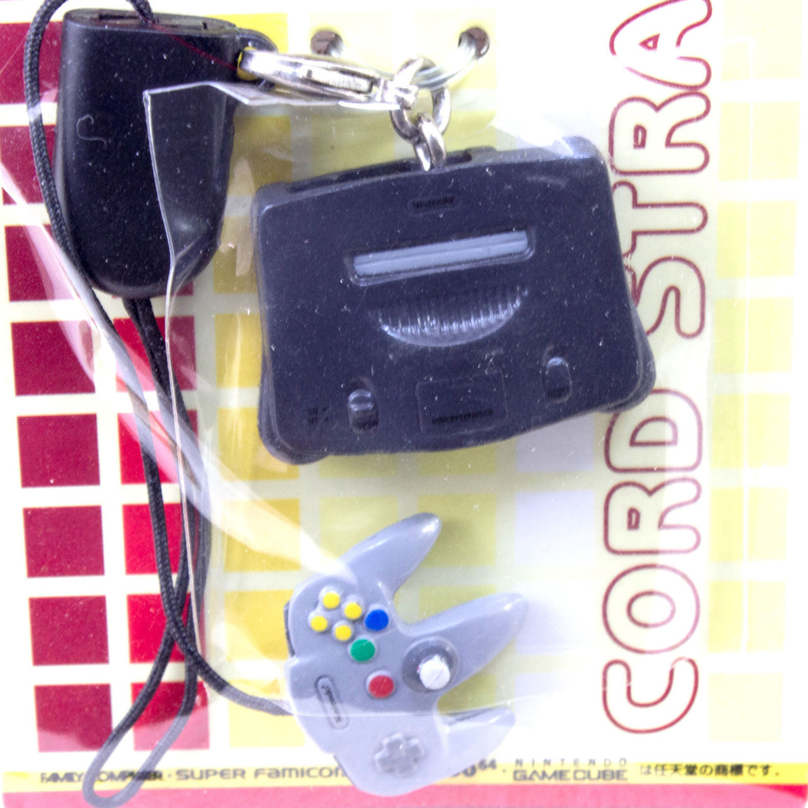 Nintendo Miniature Figure Mobile Strap Banpresto JAPAN